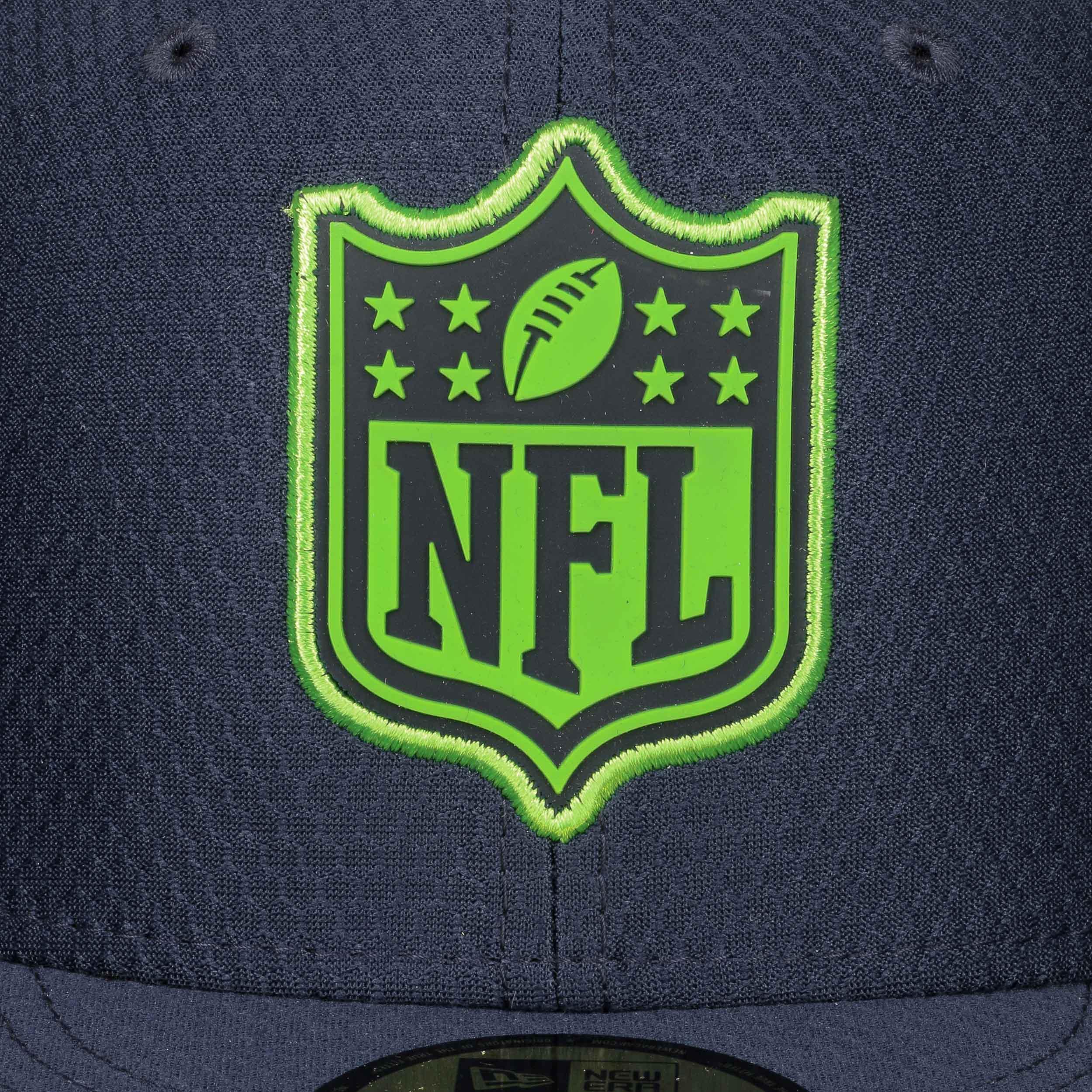 ... 59Fifty League Logo Seahawks Cap by New Era - navy 4 ... d1bf333ef
