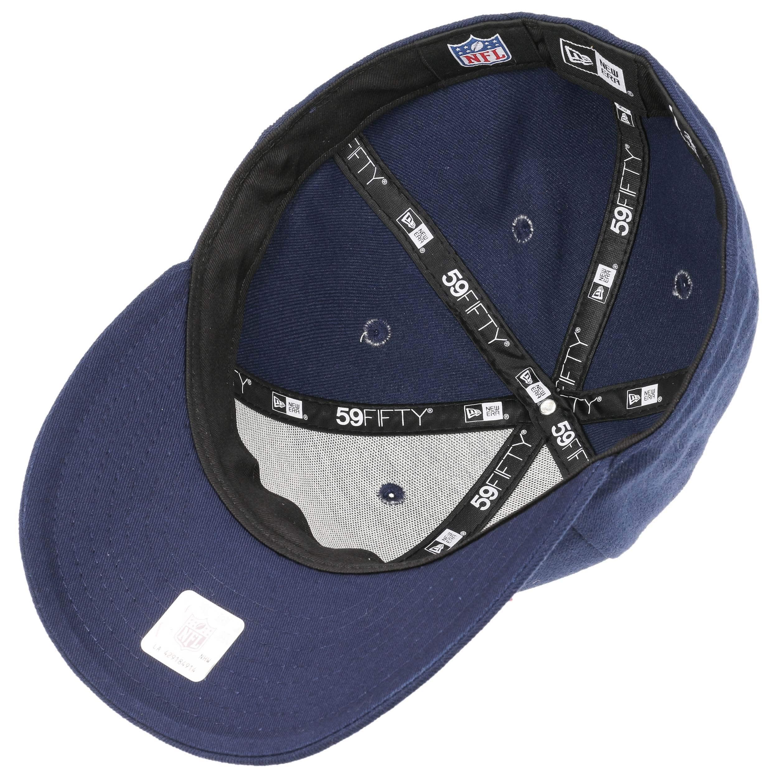 0e664ca3488 ... 59Fifty Low Profile Patriots Cap by New Era - navy 2 ...