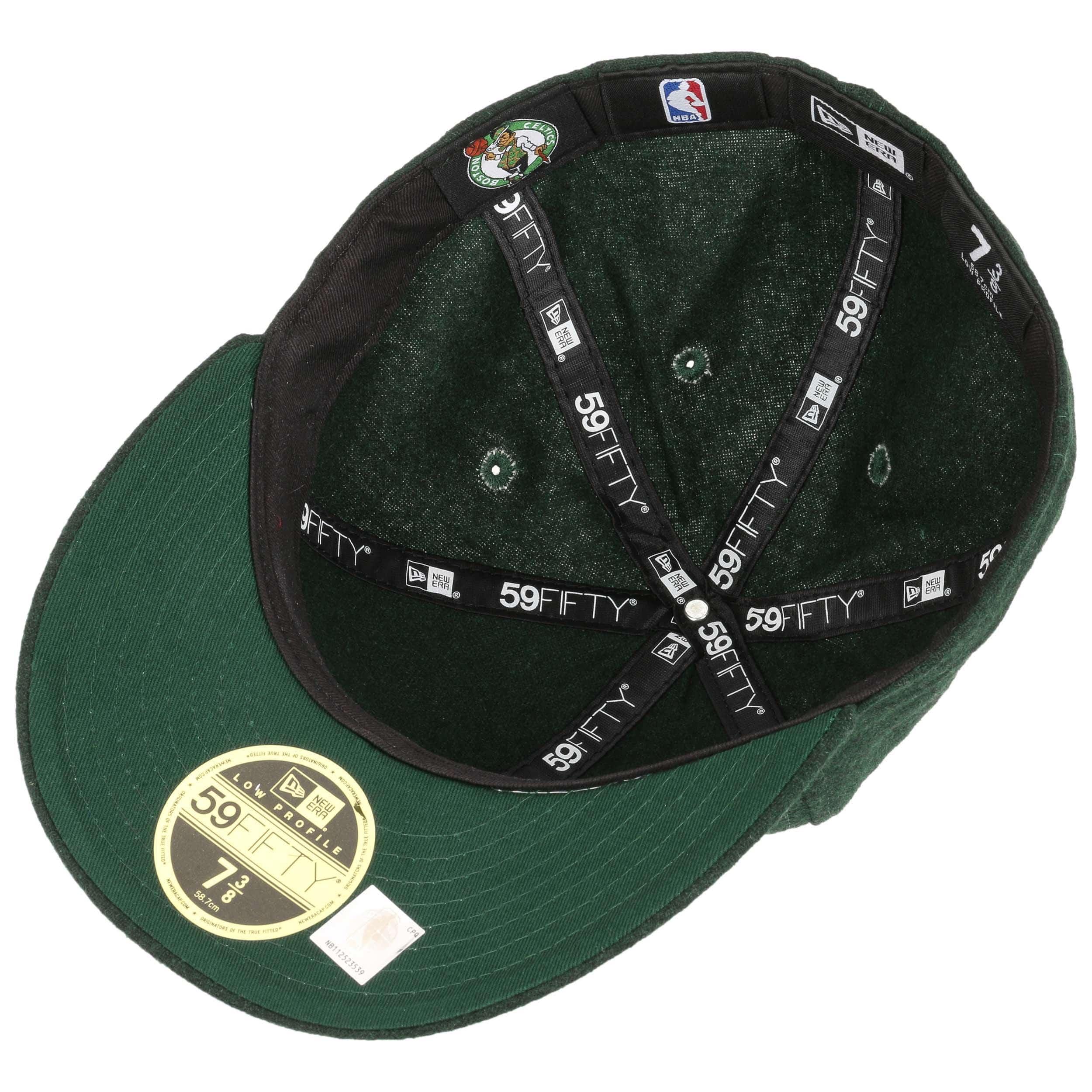 1a0f599888897c ... 59Fifty Low Profile Pin Celtics Cap by New Era - dark green 3 ...