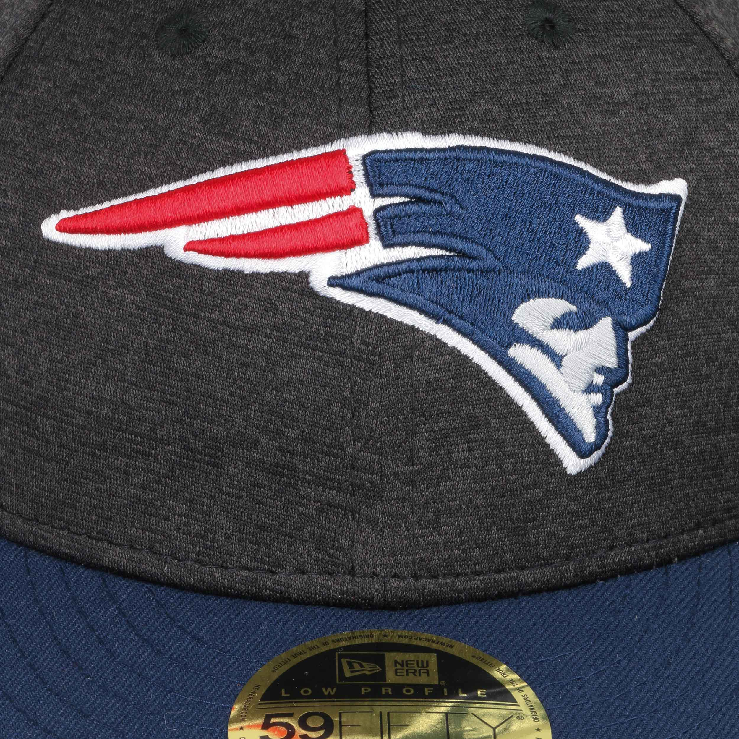db1a008b ... 59Fifty Low Profile Tech Patriots Cap by New Era - dark grey 4 ...