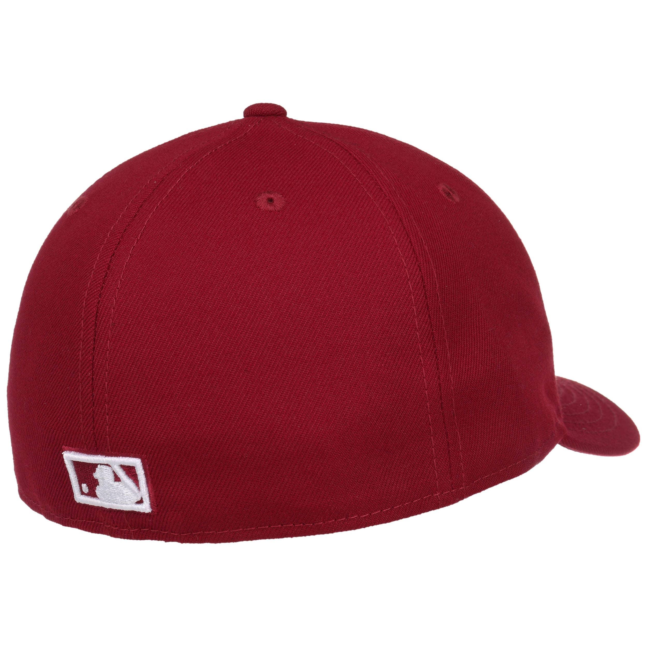 ... 59Fifty Low Profile Yankees Cap by New Era - bordeaux 3 ... 8c73ebd493d