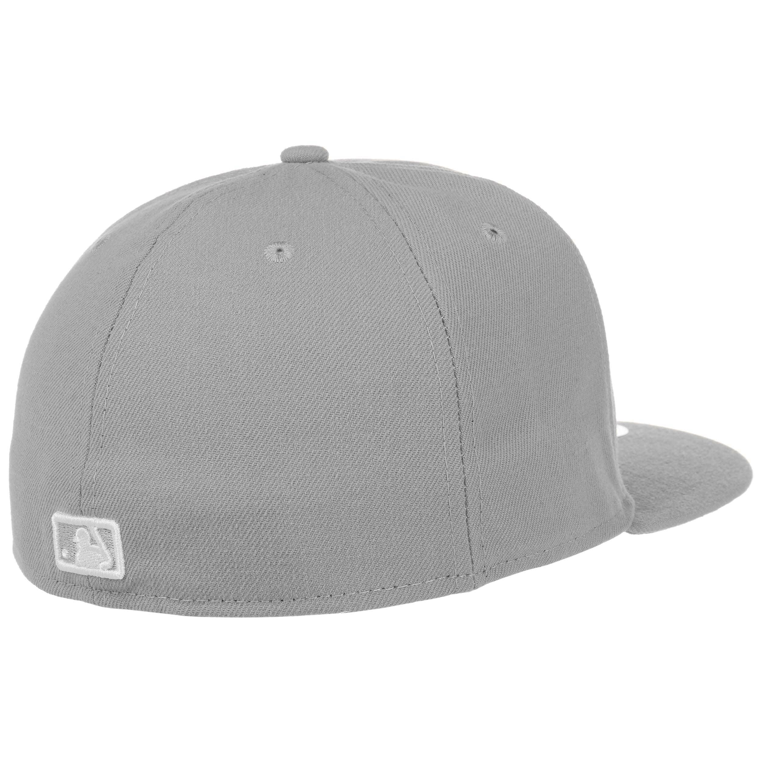 ... 59Fifty MLB Basic NY Cap by New Era - grey 3 ... e92b137727d