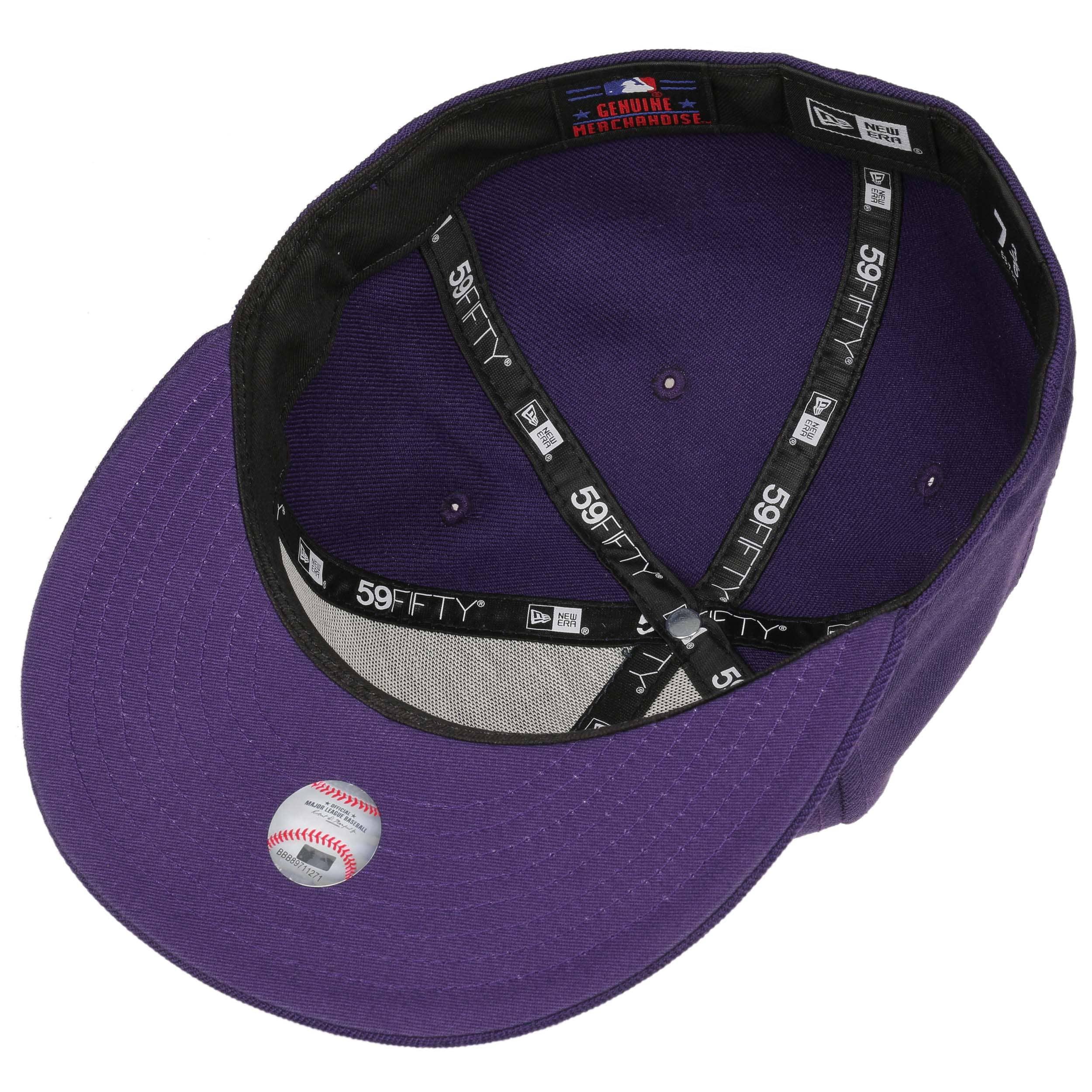 ... 59Fifty MLB Basic NY Cap by New Era - purple 2 ... c864834cd92