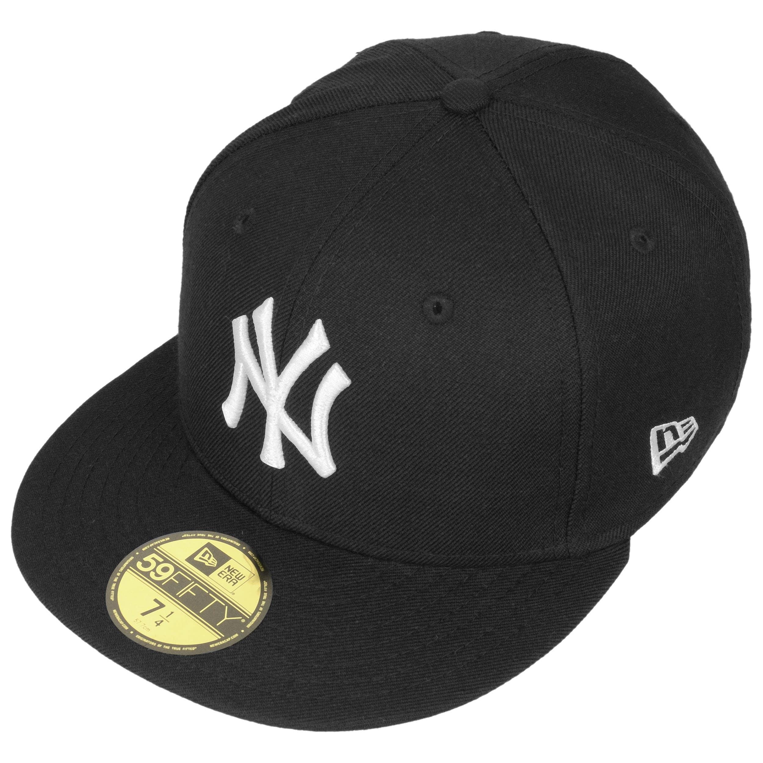 f45076f9aa9 ... 59Fifty MLB Basic NY Cap by New Era - schwarz 1 ...