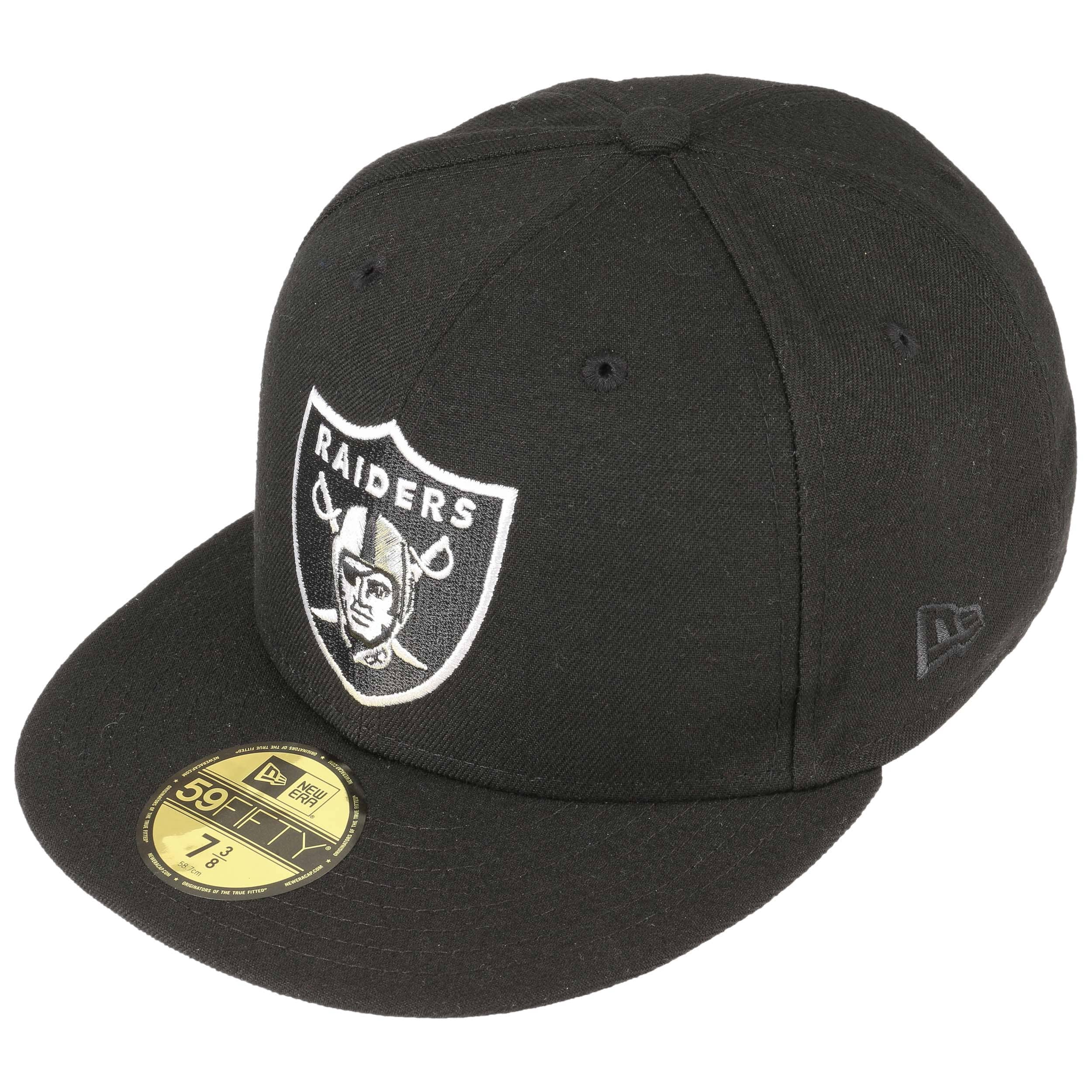 9b79389e2 59Fifty NFL Classic Raiders Cap by New Era - black 1 ...
