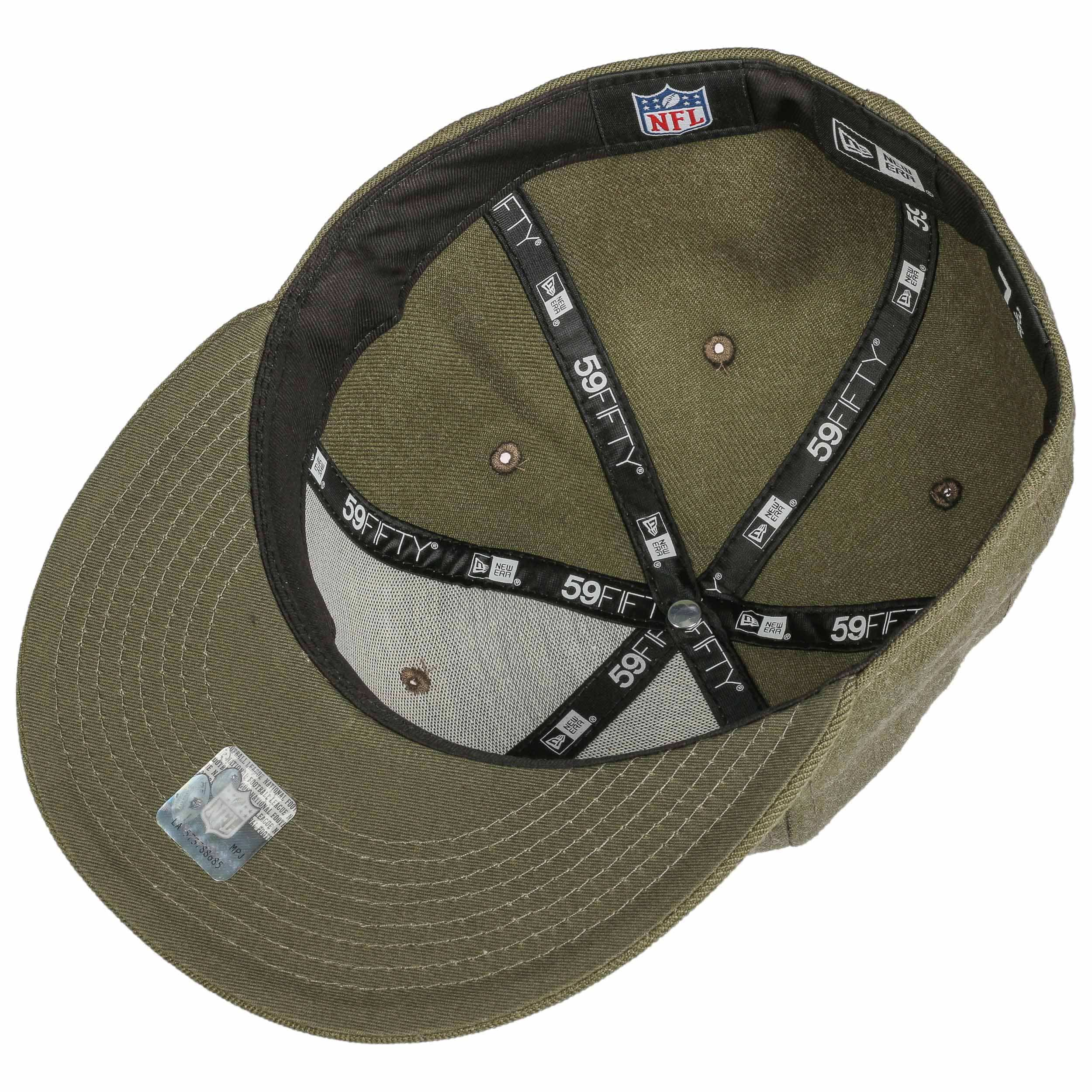 ... 59Fifty NFL Heather Seahawks Cap by New Era - olive 2 ... f95f0f5ce27