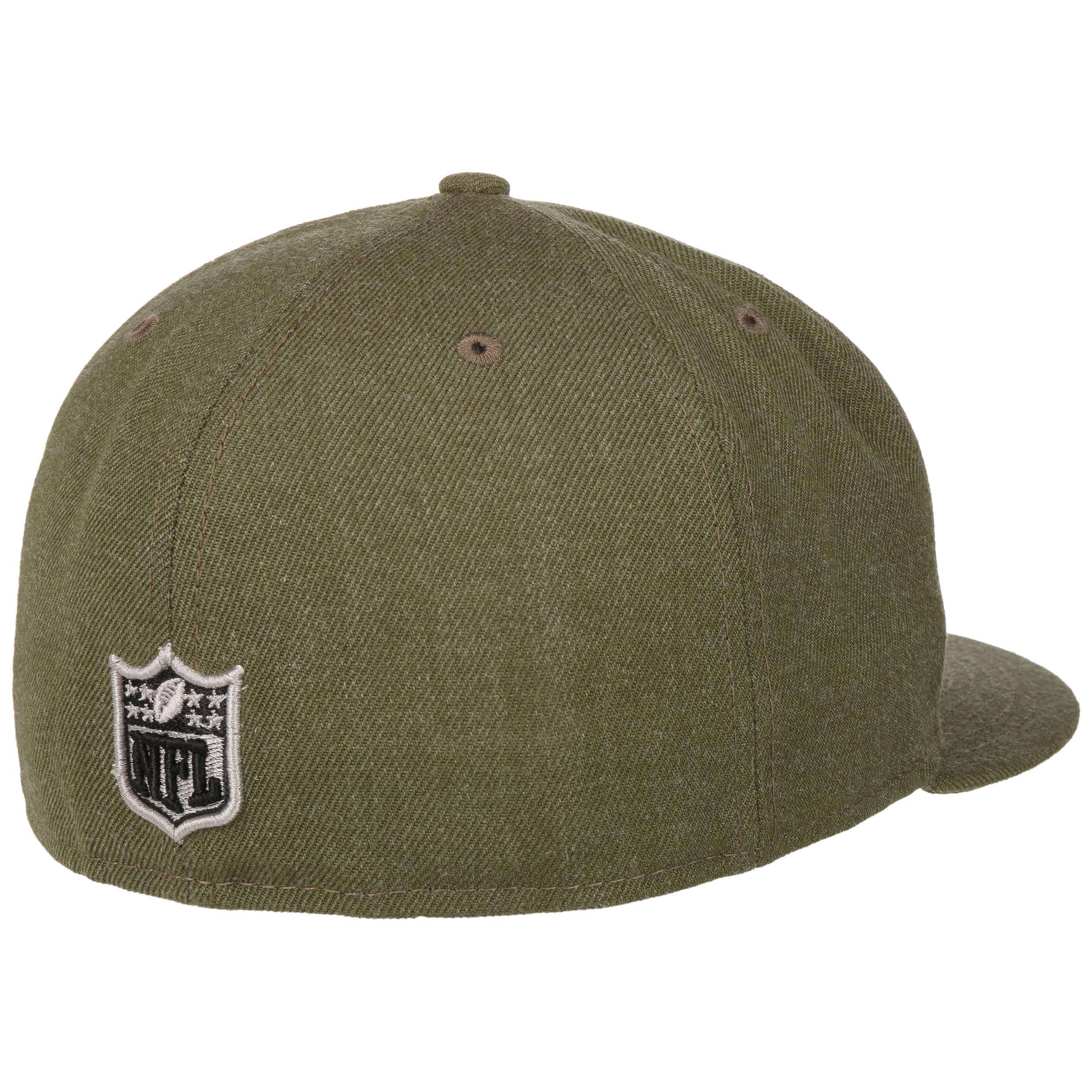 the latest e53f2 fb067 ... 59Fifty NFL Heather Seahawks Cap by New Era - olive 3 ...