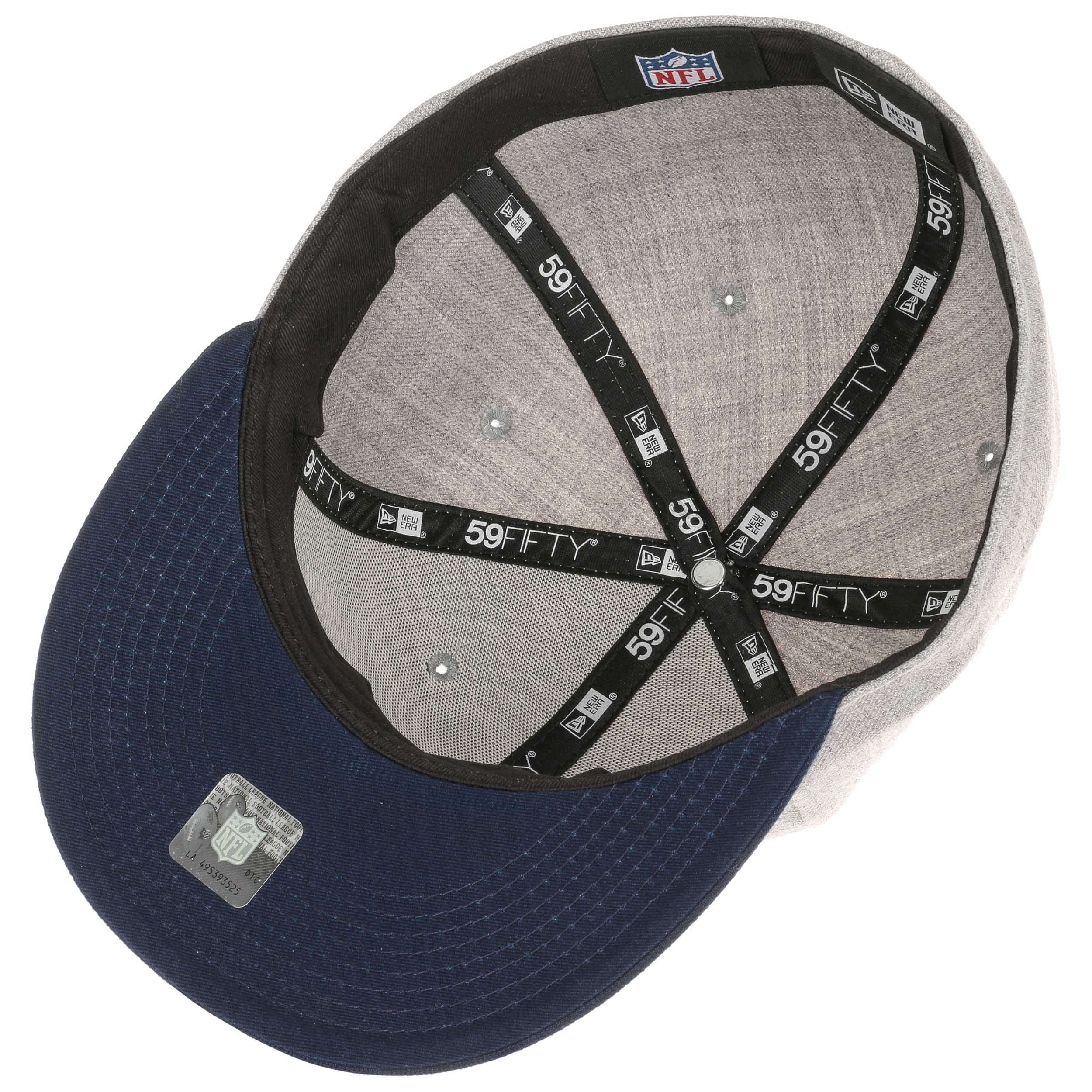 finest selection fd70e 89d3d ... clearance 59fifty new england patriots cap by new era grey 2 db31c 38b13