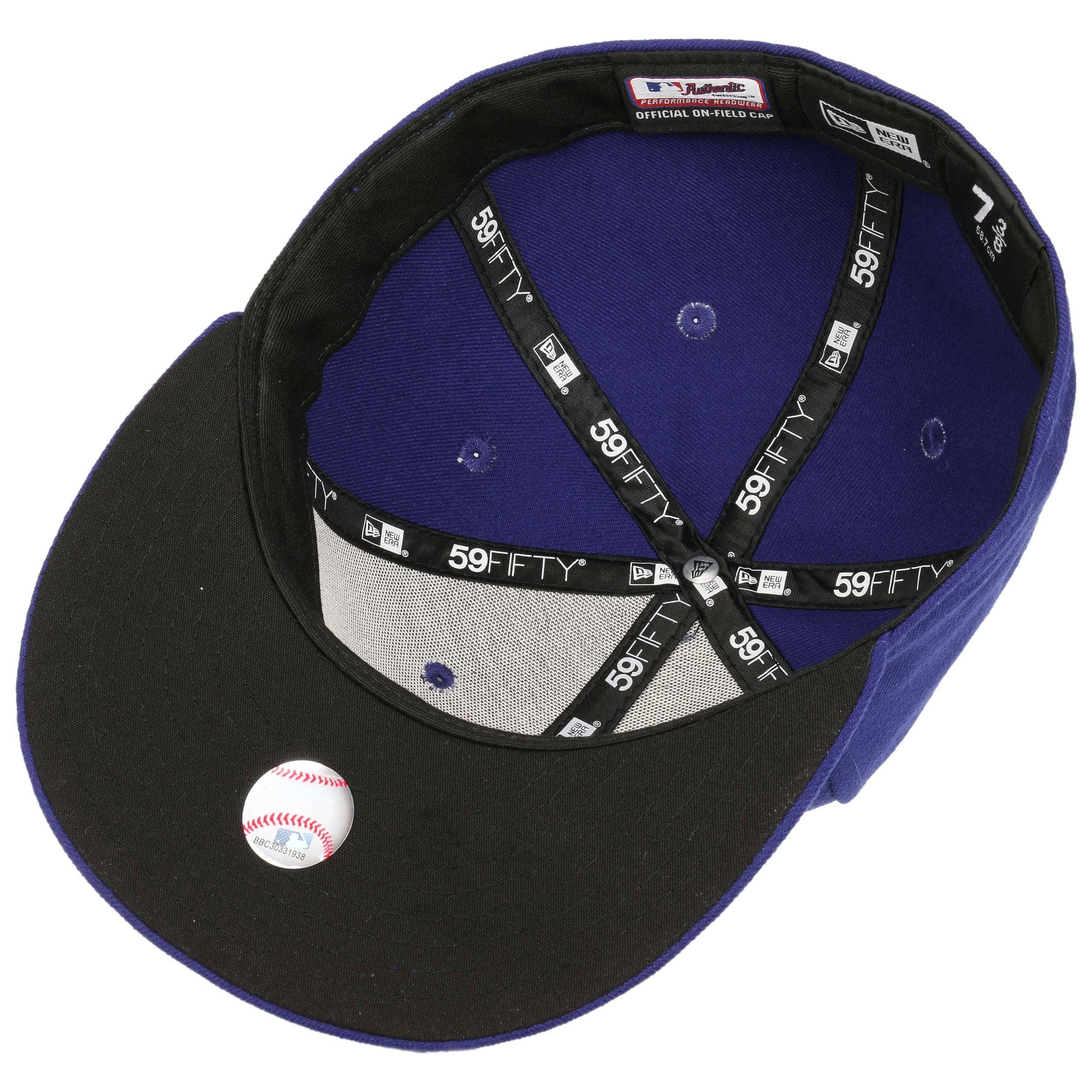 ... 59Fifty OTC LA Dodgers Cap by New Era - blue 2 ... 54a79fd35d1