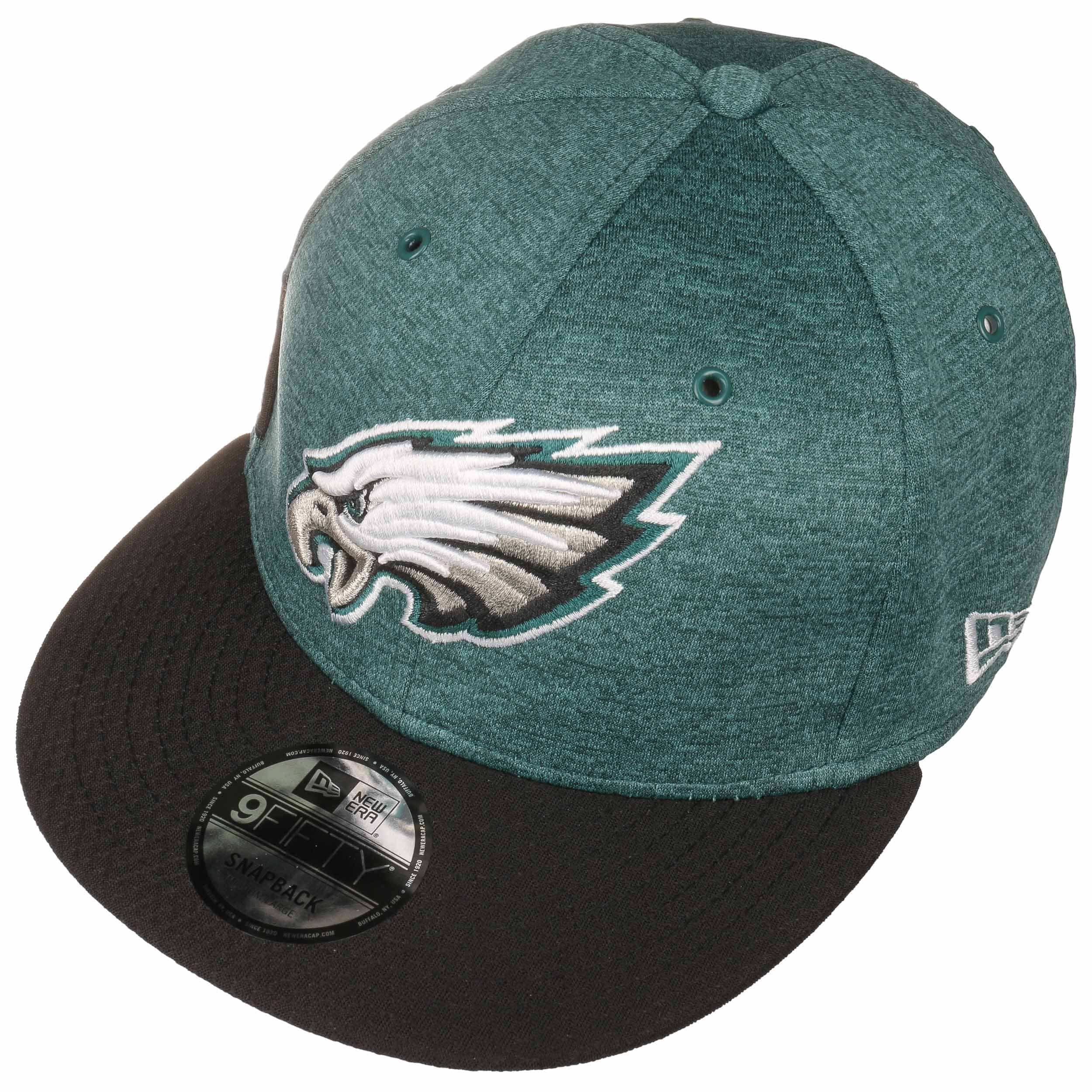 9c350c2af1a 59Fifty On-Field 18 Eagles Cap by New Era - dark green 1 ...