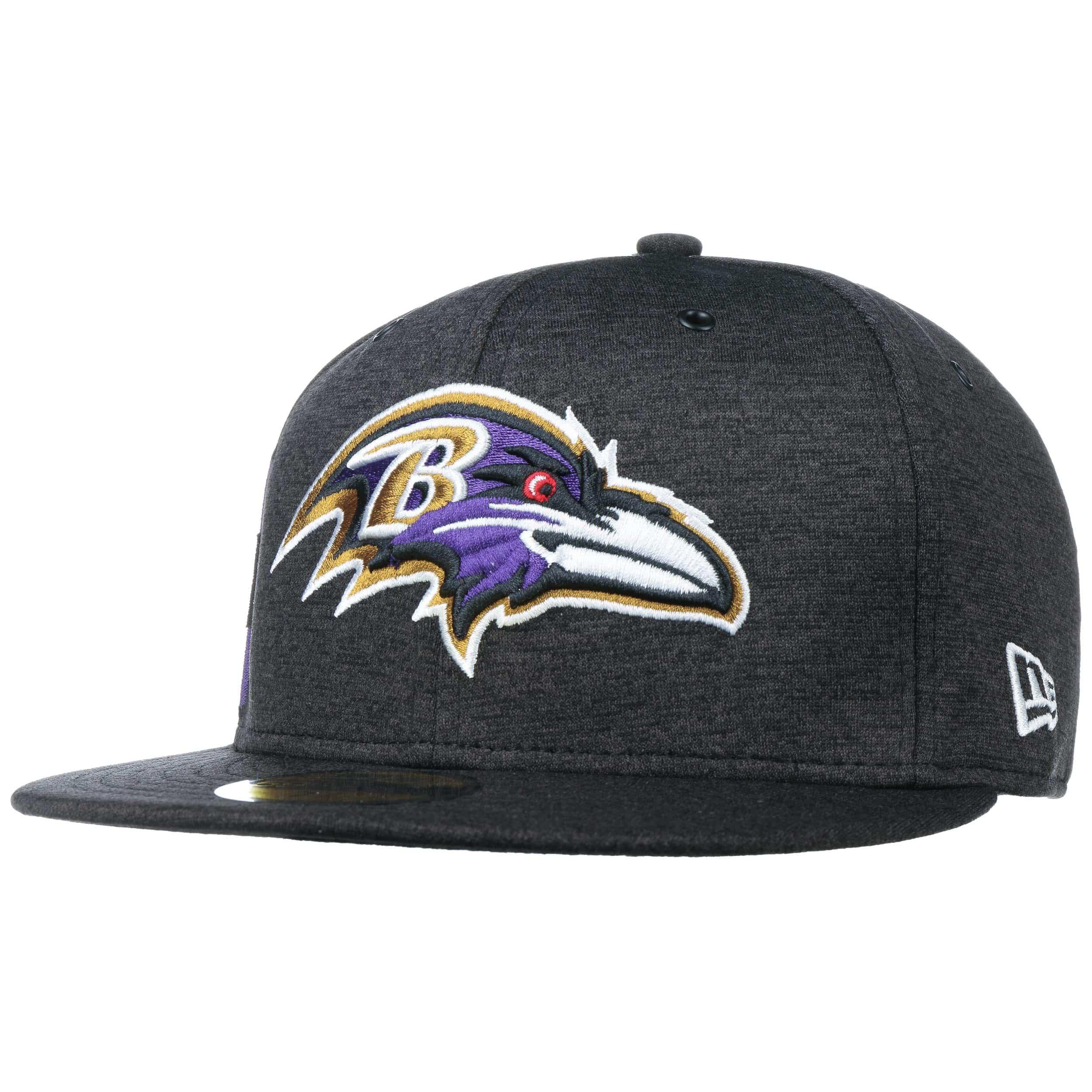 aafc2e607d5 59Fifty On-Field 18 Ravens Cap by New Era