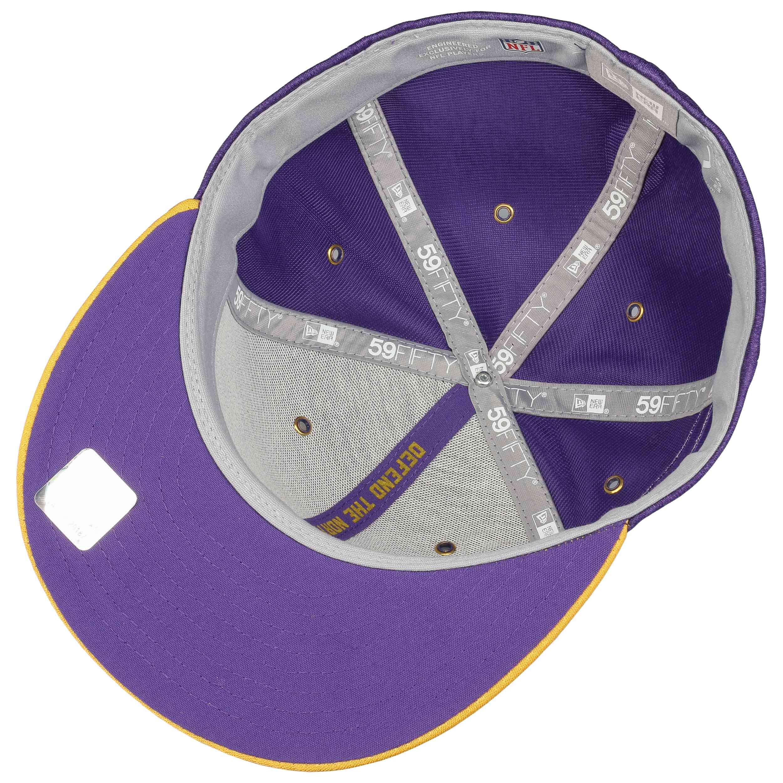 ... 59Fifty On-Field 18 Vikings Cap by New Era - purple 3 ... 37ea07cb49bc