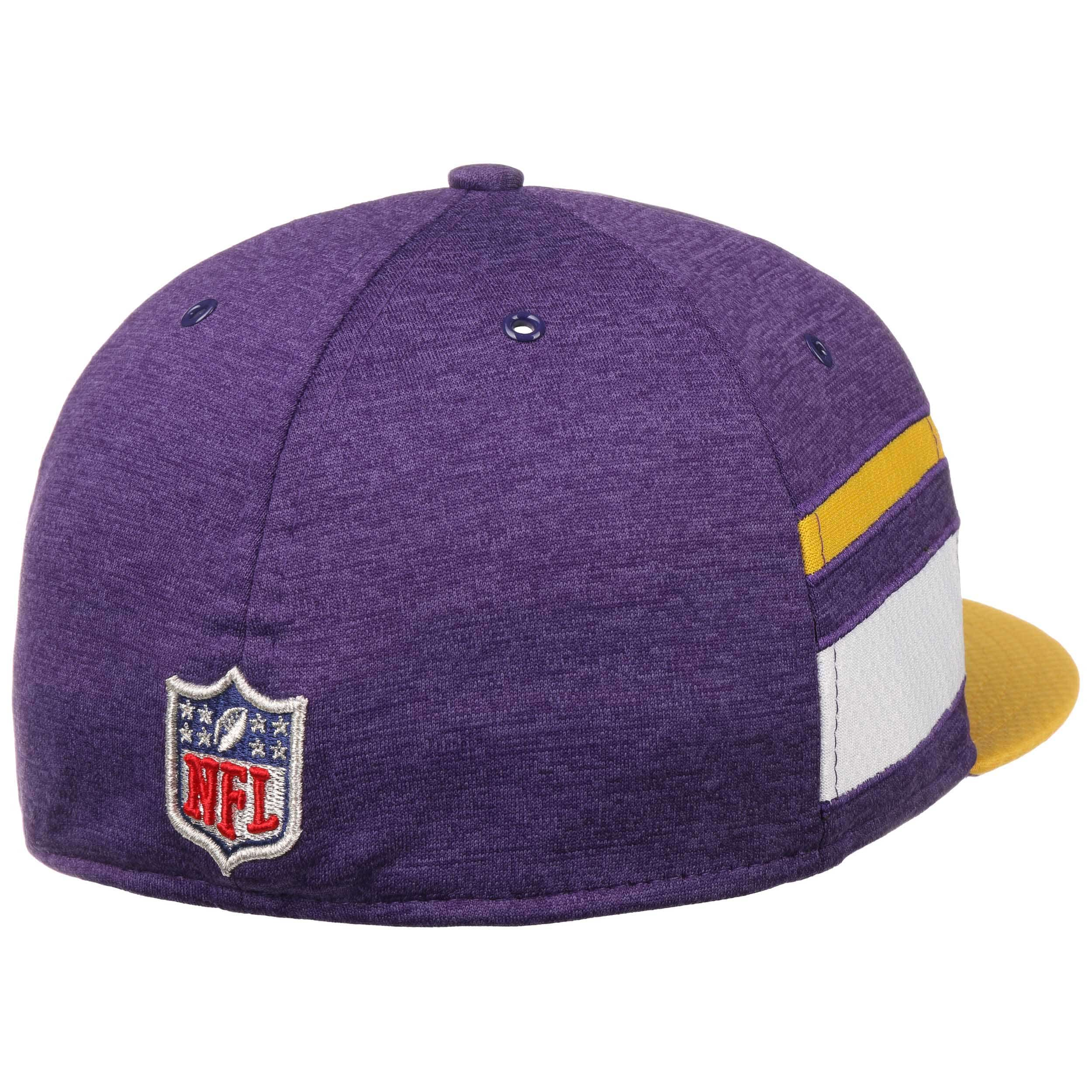 ... 59Fifty On-Field 18 Vikings Cap by New Era - purple 3 ... ddf62353969