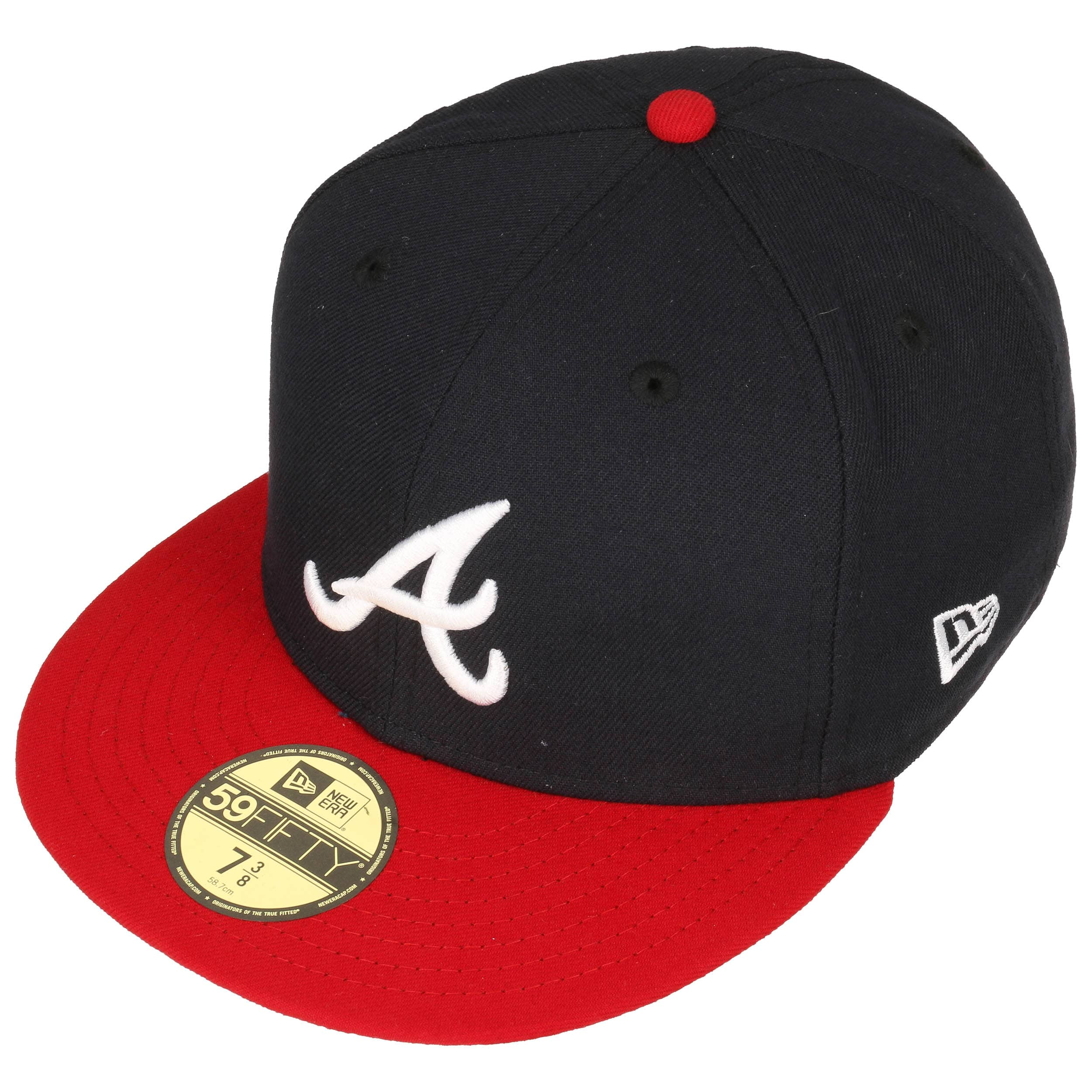 Braves Hats: 59Fifty TSF Atlanta Braves Cap By New Era, GBP 31,95