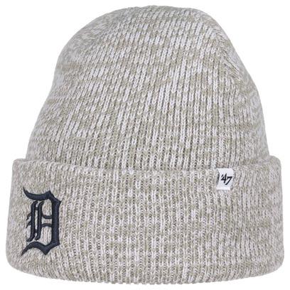 47 Brand Centerfield Tigers Beanie Mütze Strickmütze Wintermütze Umschlagmütze MLB Detroit - Bild 1