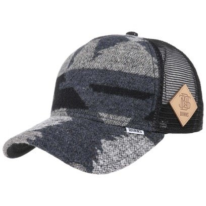 Djinns Wool Aztek HFT Trucker Cap Truckercap Meshcap Mesh Basecap Baseballcap Curved Brim - Bild 1