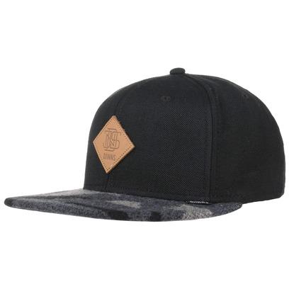 Djinns Wool Aztec 6P Snapback Cap Basecap Baseballcap Flat Brim Flatbrim Kappe - Bild 1