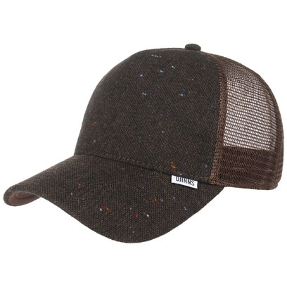 Djinns Felt Rubber HFT Trucker Cap Meshcap Mesh Basecap Baseballcap Kappe Curved Brim Snapback - Bild 1