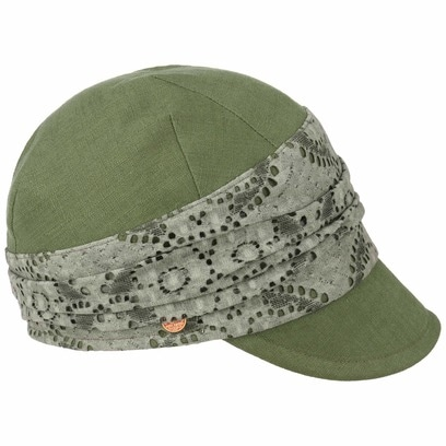 Mayser Moya Leinen Schirmmütze Damencap Leinencap Sommercap Sonnencap Damenmütze - Bild 1