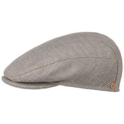 Mayser Vincent Soft Check Flatcap Schirmmütze Seidencap Wollcap Schiebermütze Leinencap - Bild 1