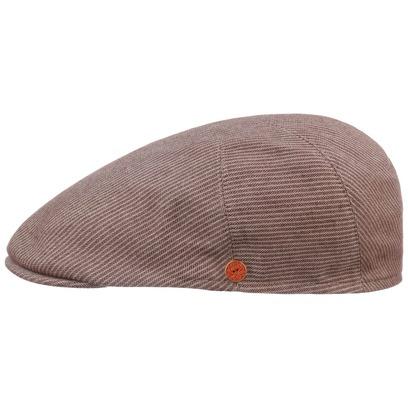 Mayser Simon Casual Stripe Flatcap Baumwollcap Schirmmütze Schiebermütze Sommercap - Bild 1