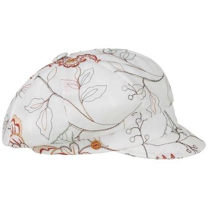 Mayser Anja Flower Ballonmütze Baker-Boy-Mütze Newsboy-Mütze Damencap Schirmmütze Baumwollcap - Bild 1