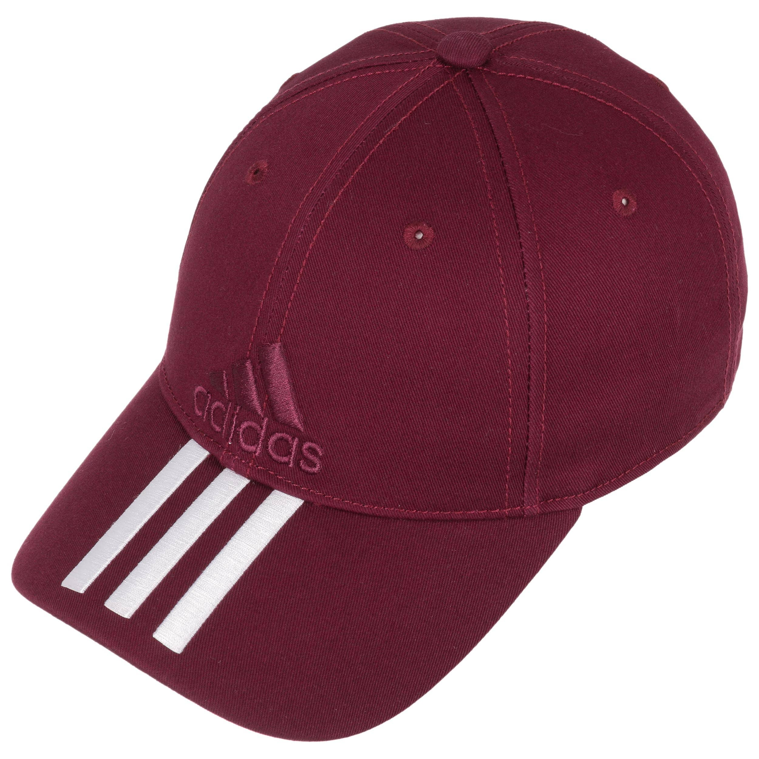 6P 3S Cotton Strapback Cap by adidas - bordeaux 1 ... c779f5353