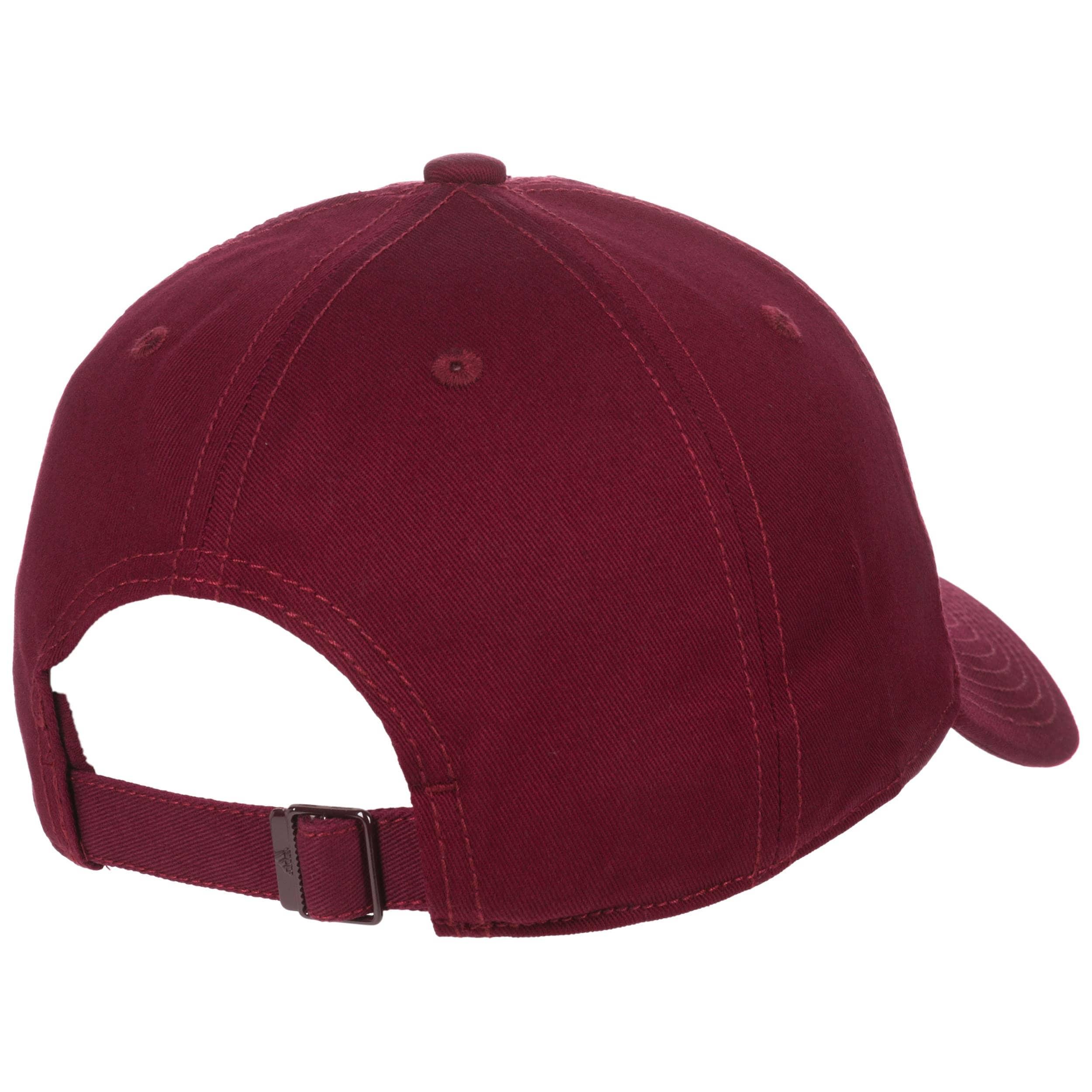 ... 6P Classic Cotton Snapback Cap by adidas - bordeaux 3 ... d5193abef10