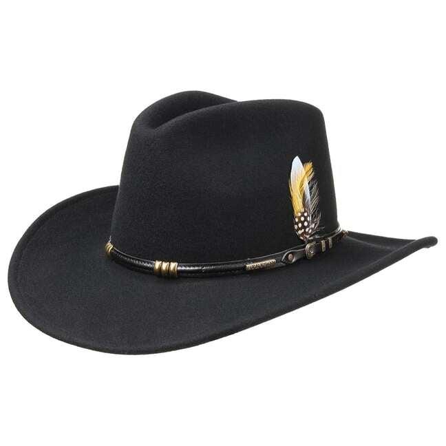 Stetson Buffalo Cowboy Westernhut - broschei