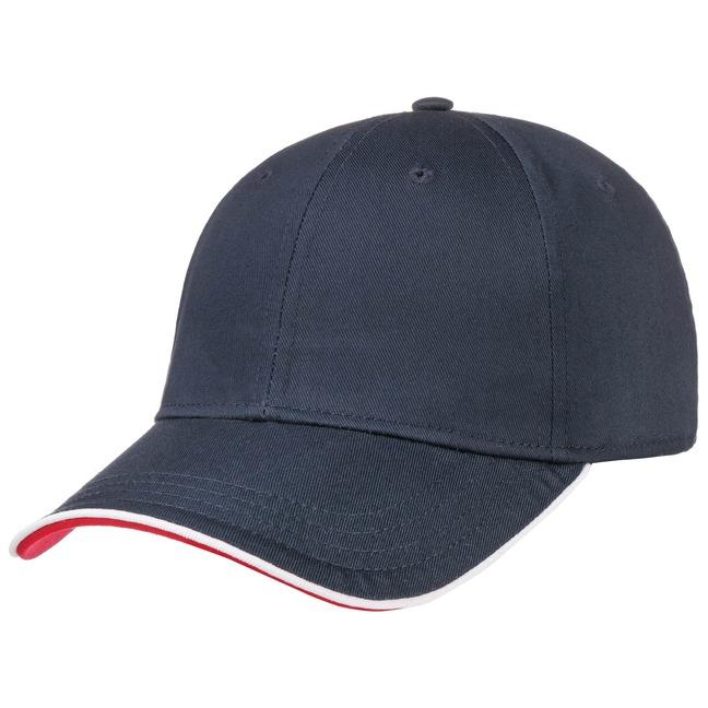 Hutshopping Zoom Piping Sandwich Basecap Cap Baseballcap Curved Brim Kappe Käppi jetztbilligerkaufen