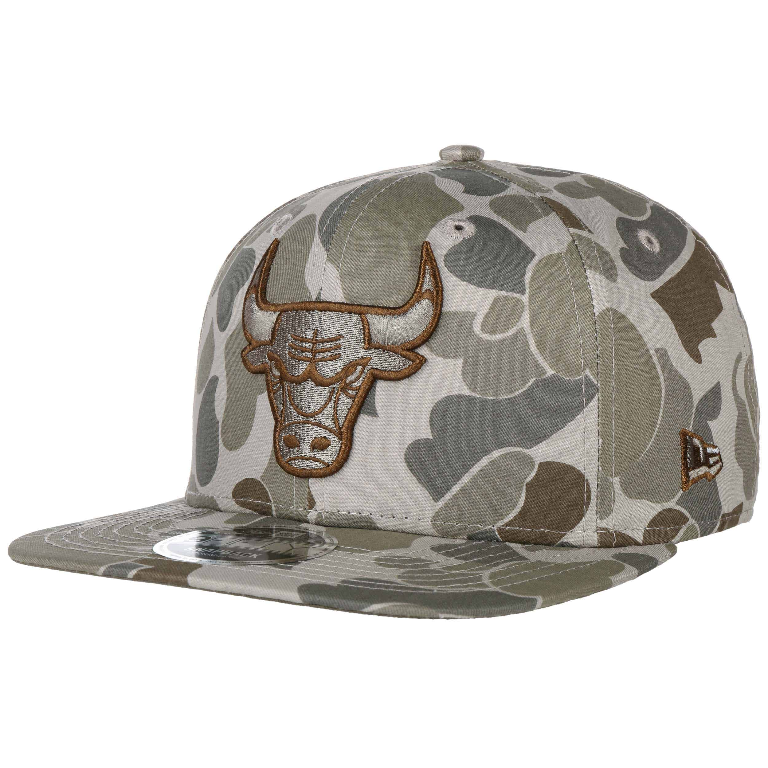 9Fifty Camo Bulls Cap. by New Era 9e5e78ecb63