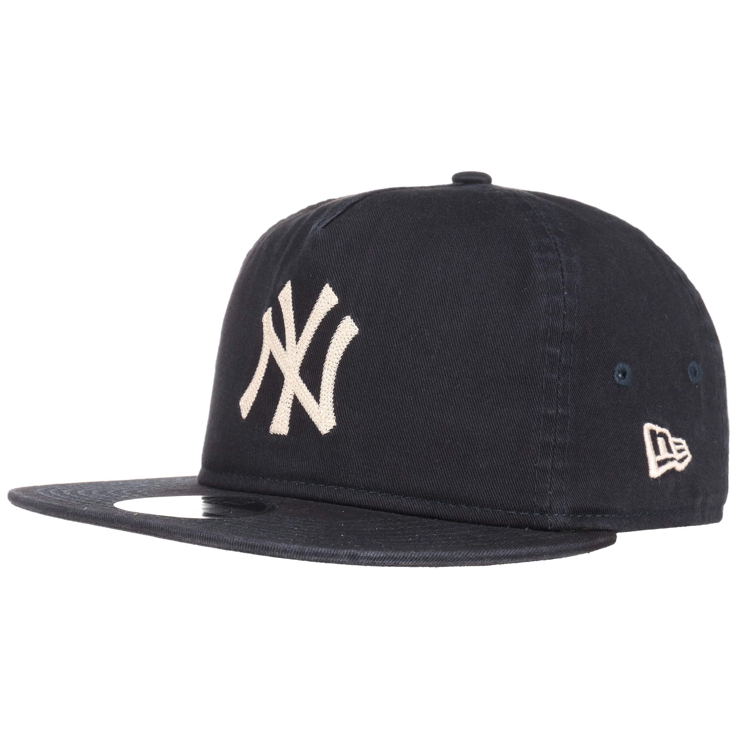 NEW ERA 9FIFTY CAP NAVY NEW YORK YANKEES CHAIN STITCH