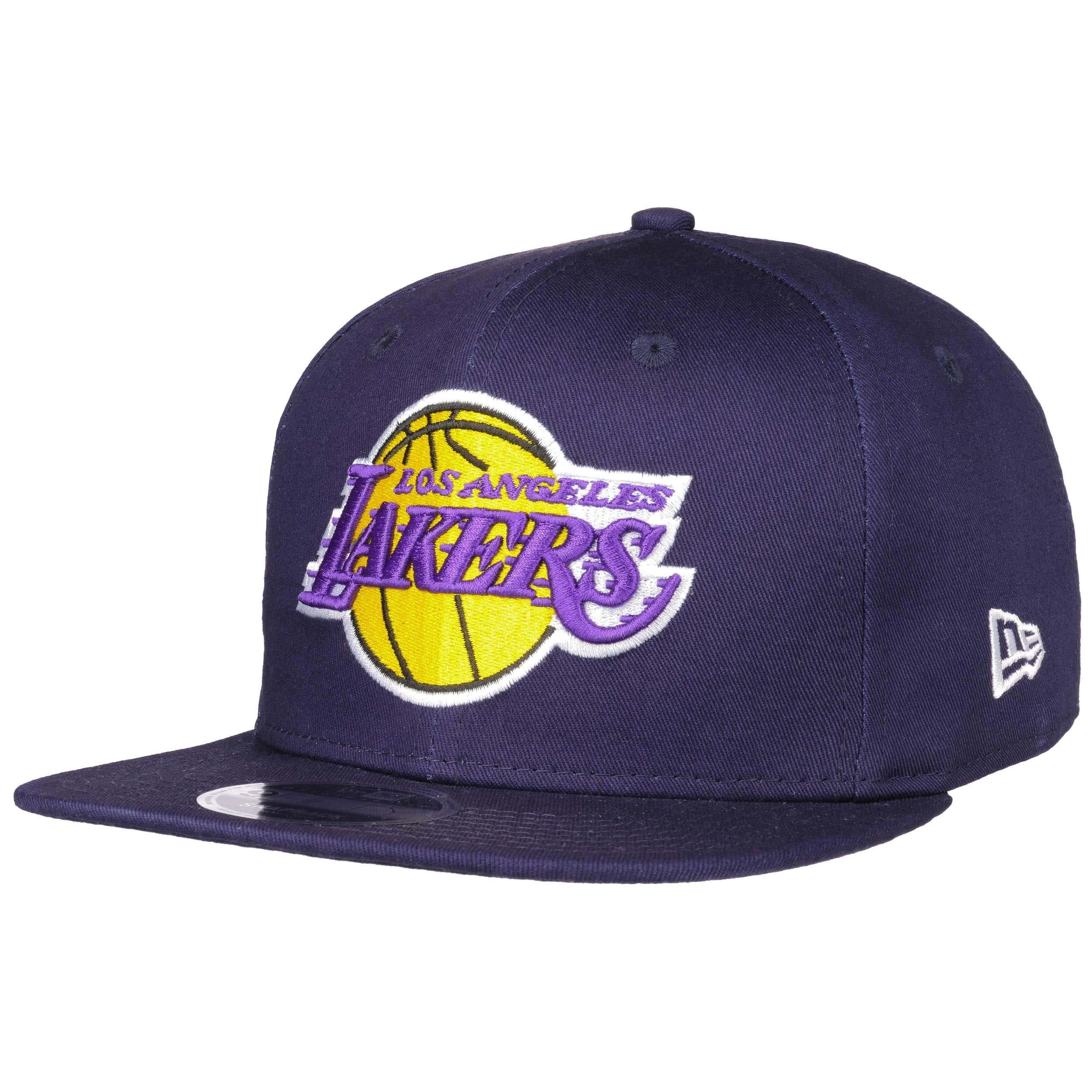 brand new e9ee4 51065 ... 9Fifty Coastal Heat Lakers Cap by New Era - lila 7