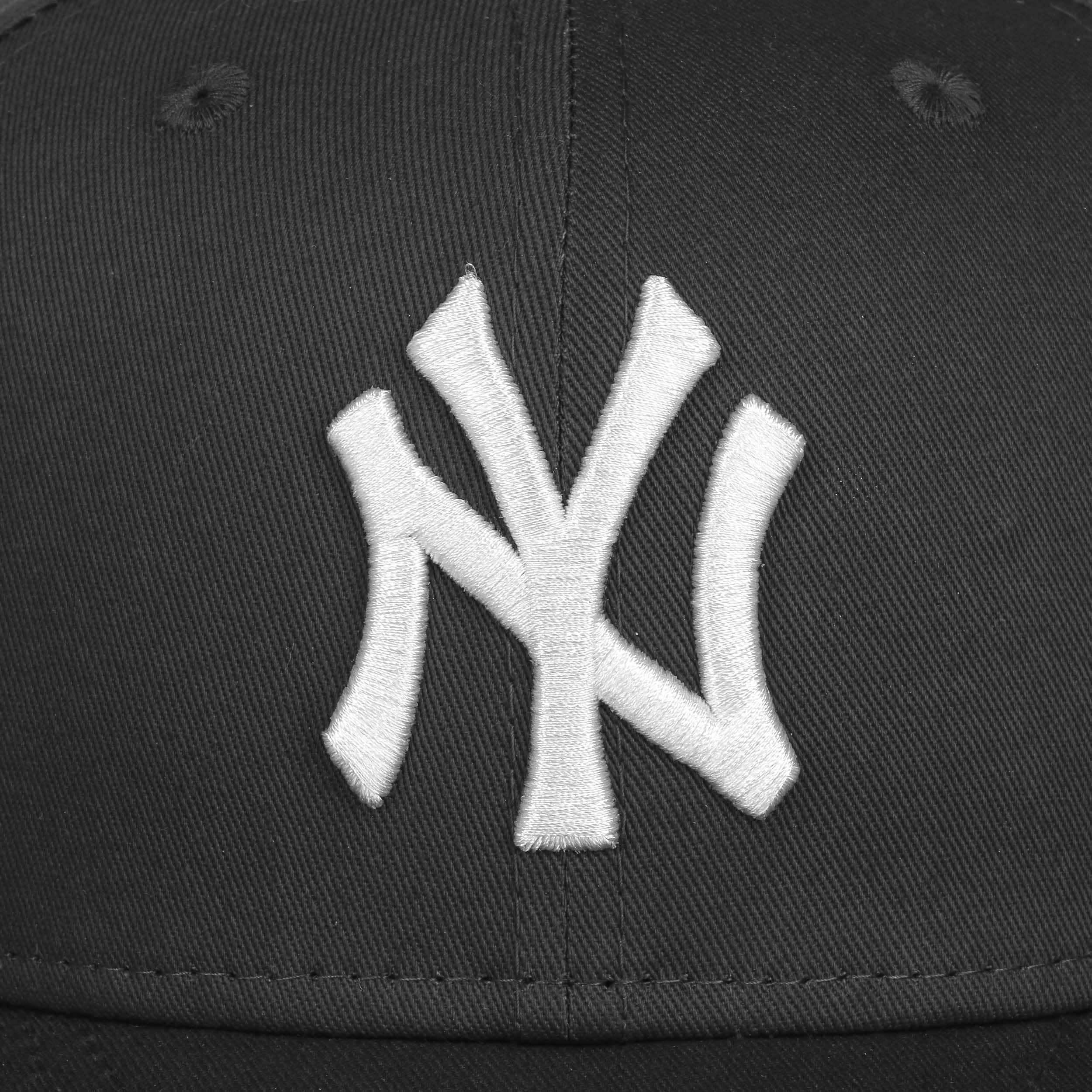 83a5e4f947a ... 9Fifty Ess NY Yankees Cap by New Era - black-white 4 ...