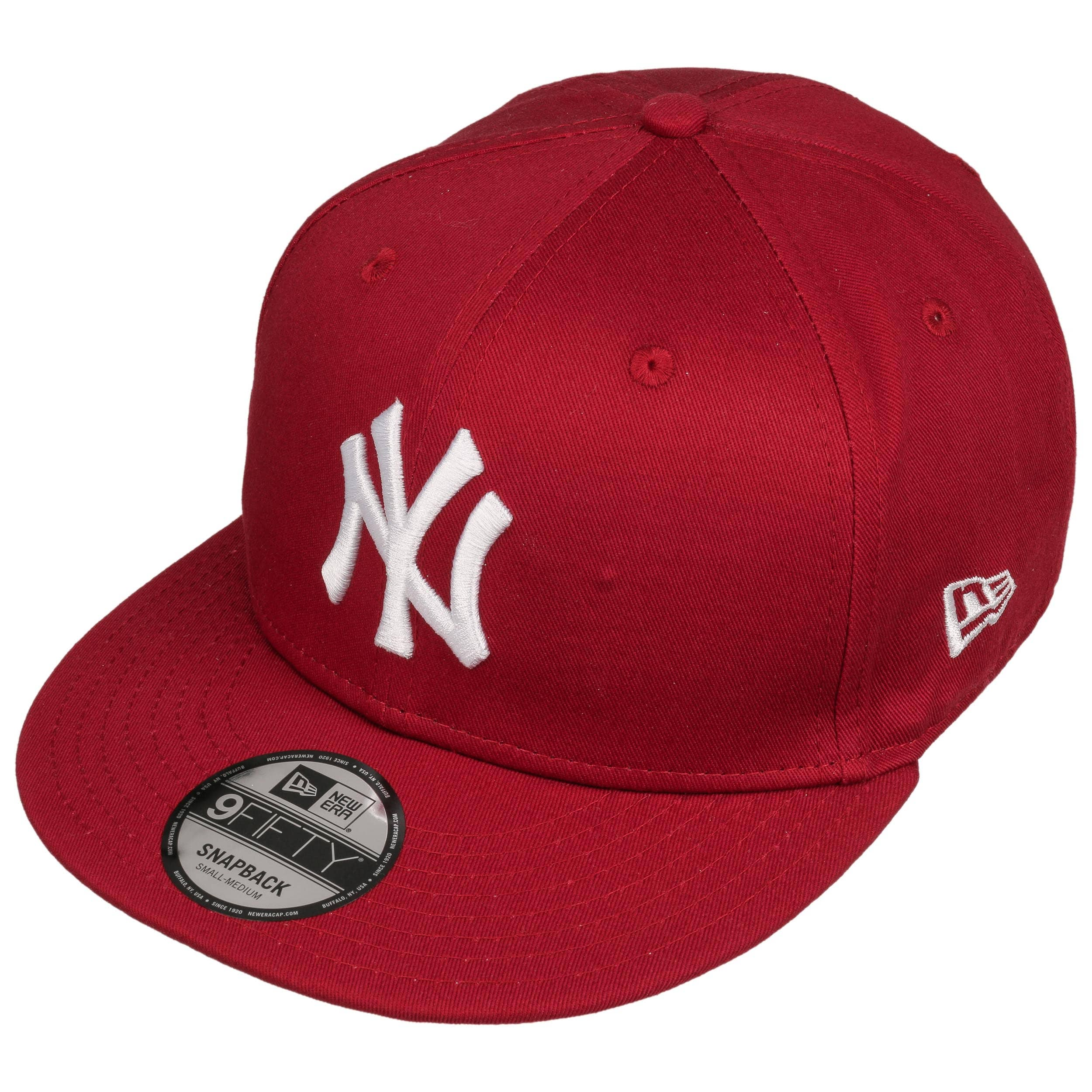 453df4f5dda ... 9Fifty Ess NY Yankees Cap by New Era - black-white 1 ...