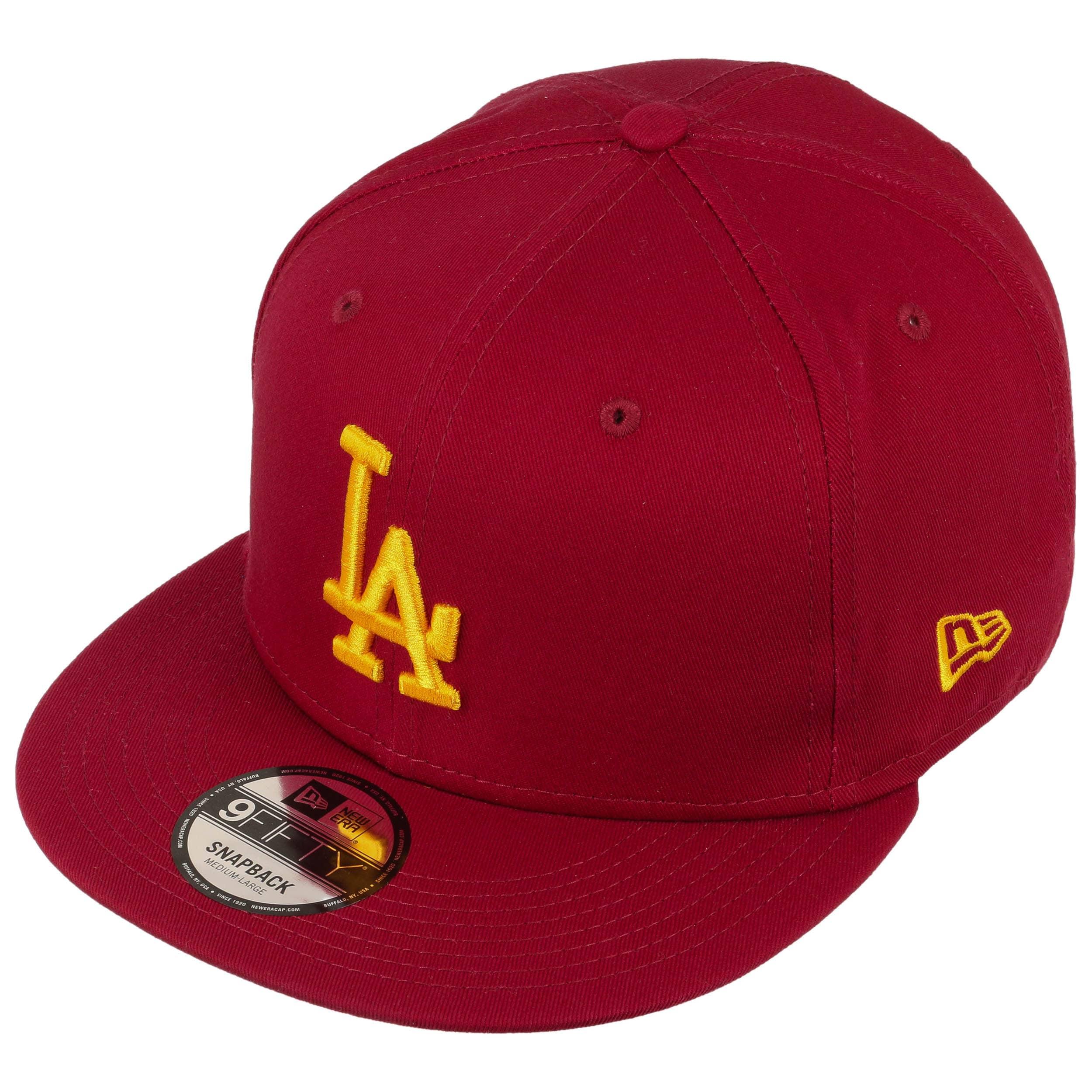 9Fifty League Ess LA Dodgers Cap by New Era - bordeaux 1 ... f1b0b3fa7f73