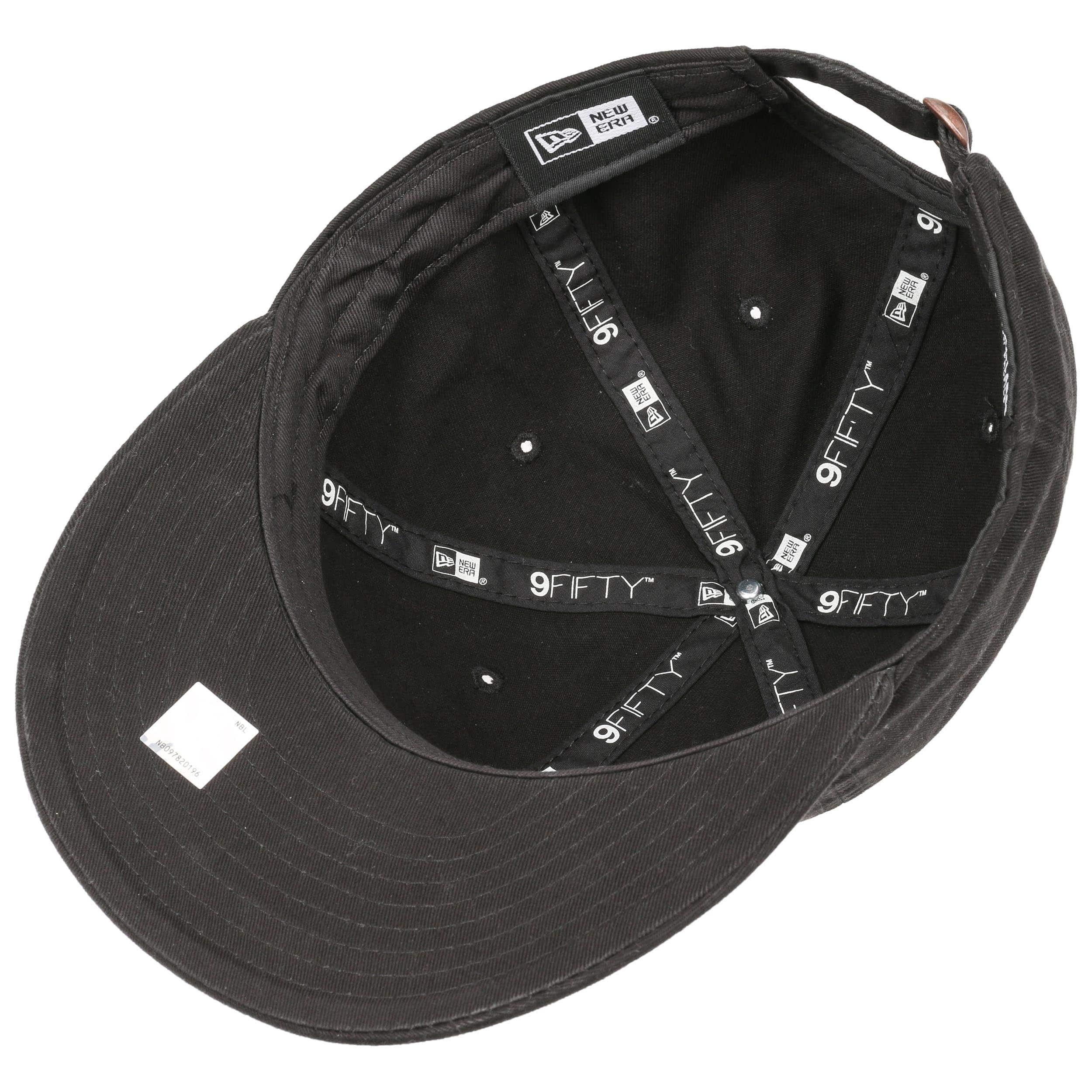 9ec093813de210 ... 9Fifty Low Crown NBA Logo Cap by New Era - black 2 ...