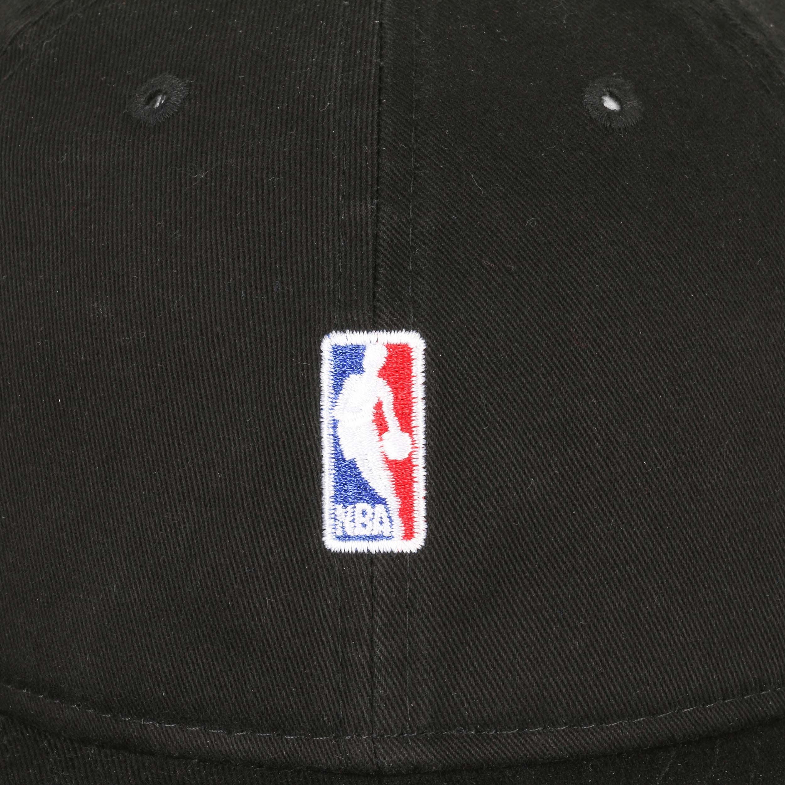 c9d9adcbc18fc4 ... 9Fifty Low Crown NBA Logo Cap by New Era - black 4 ...