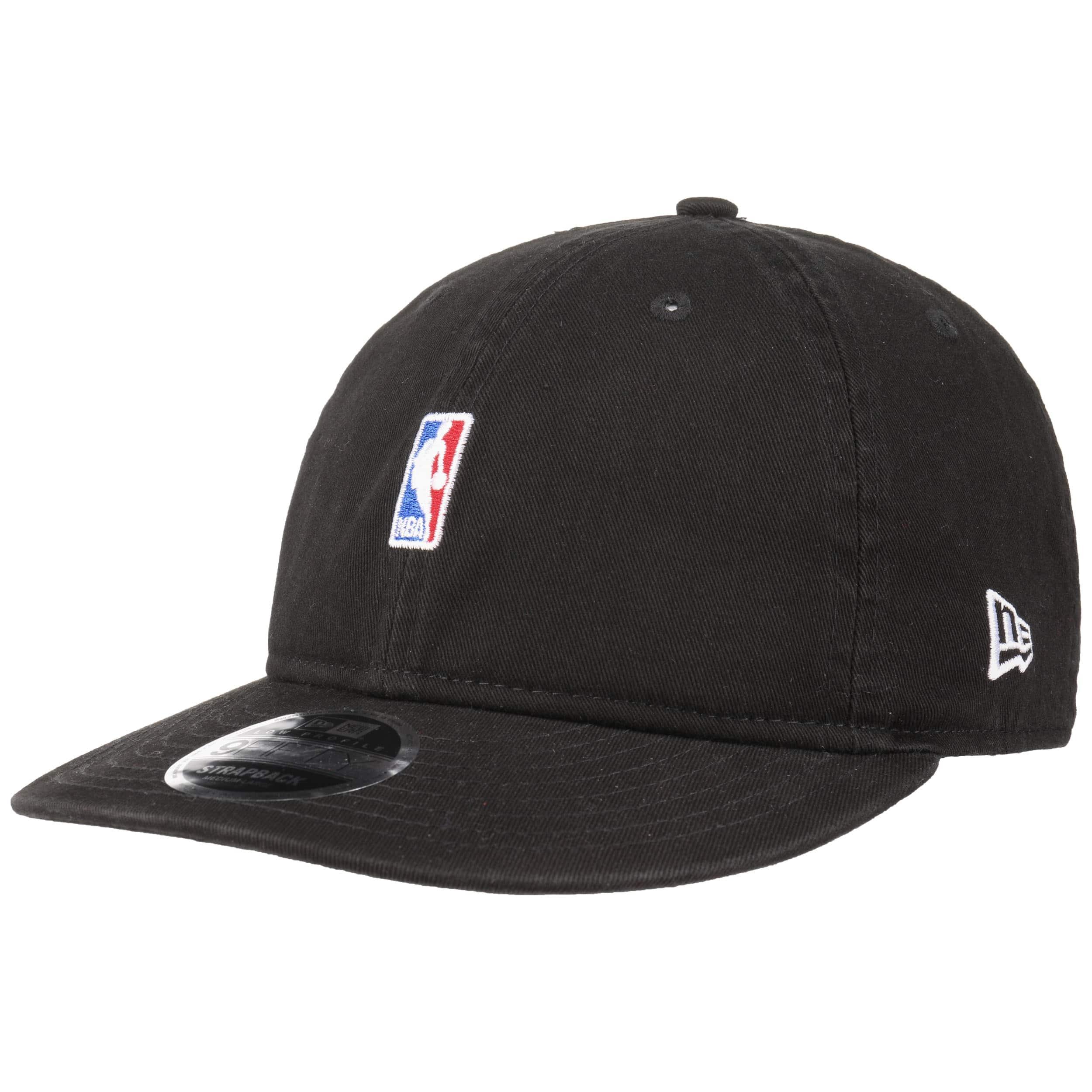 492187861e4dba ... 9Fifty Low Crown NBA Logo Cap by New Era - black 6 ...