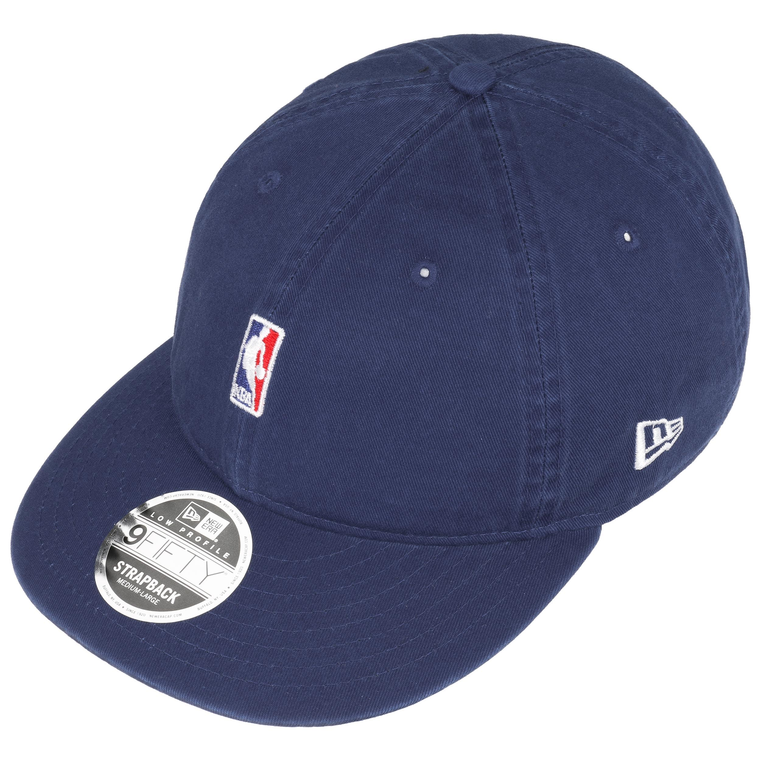 ... 9Fifty Low Crown NBA Logo Cap by New Era - royal-blue 1 ... 247f1e7487d