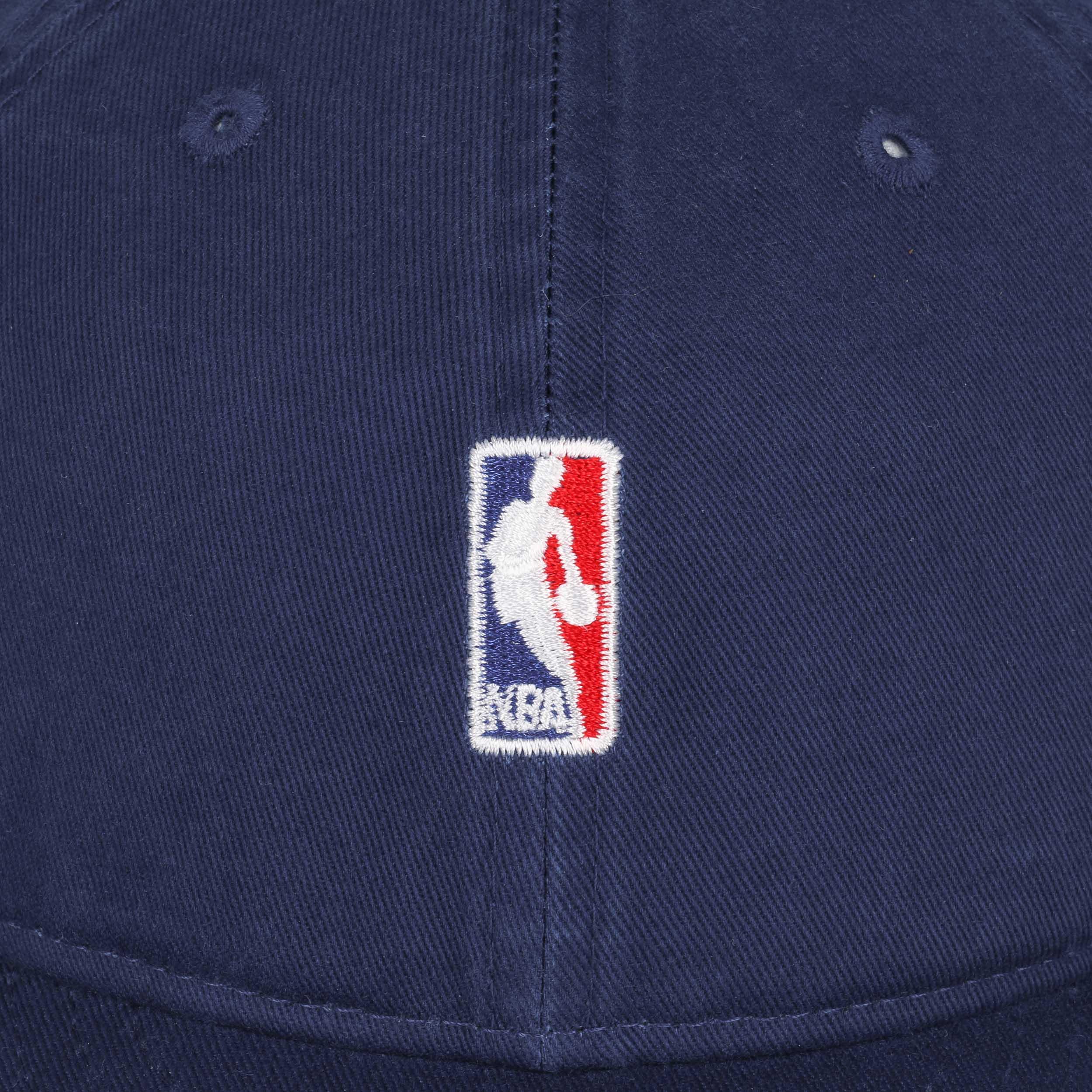 d2a15fb6f6374 ... 9Fifty Low Crown NBA Logo Cap by New Era - royal-blue 4 ...