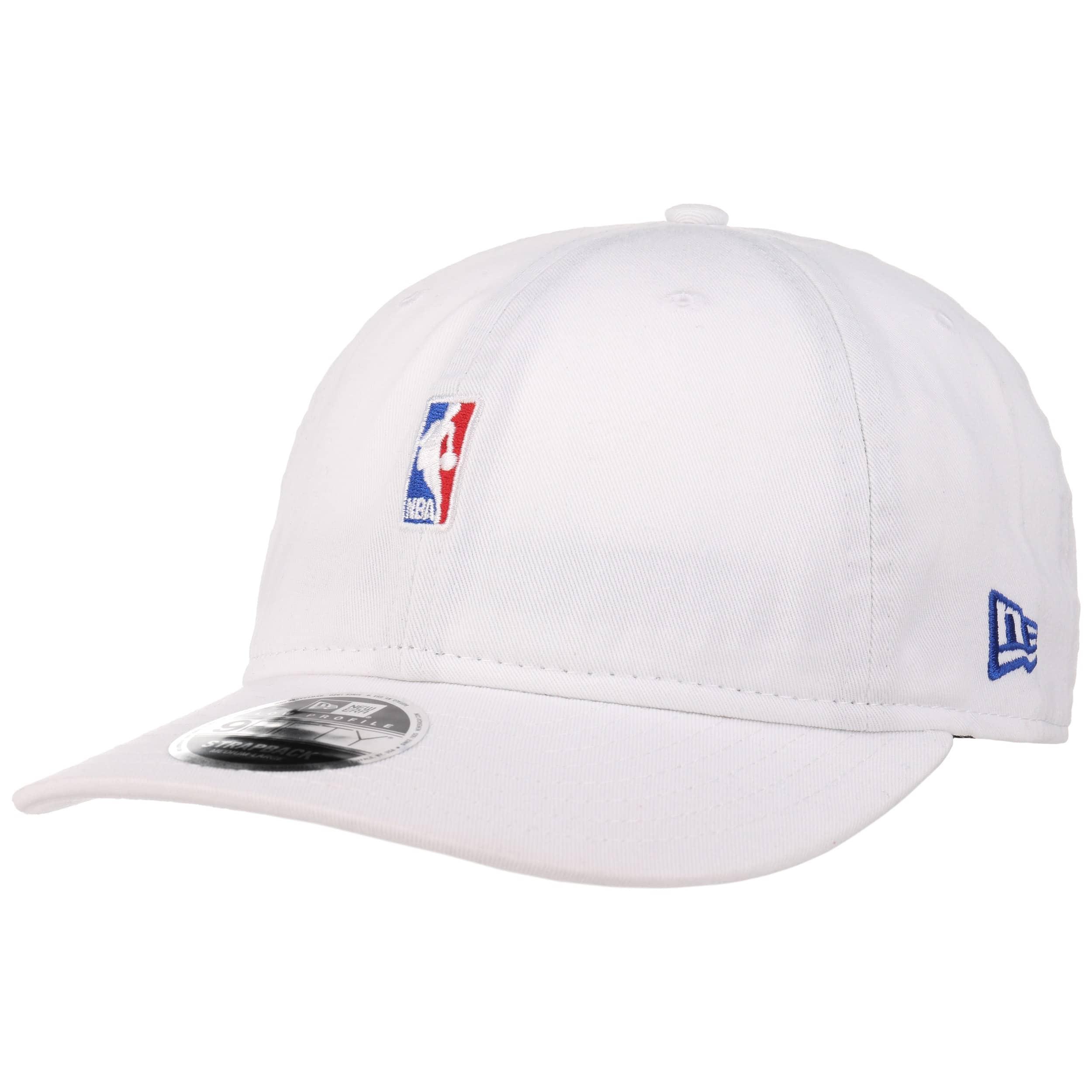 3c8d265d07f95 ... 9Fifty Low Crown NBA Logo Cap by New Era - white 6 ...