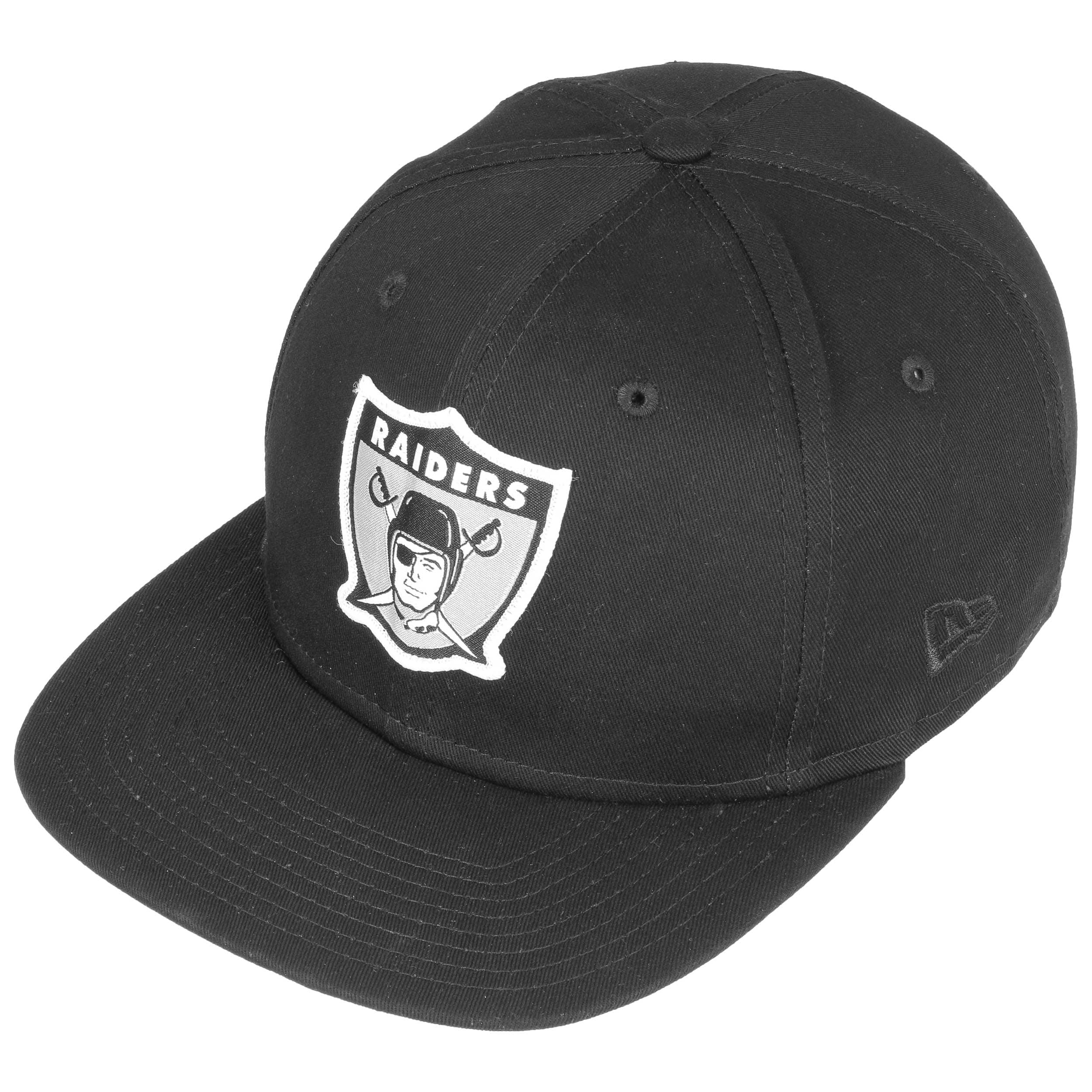 5340312d ... discount code for 9fifty patch raiders cap by new era black 1 c51cf  6fc50