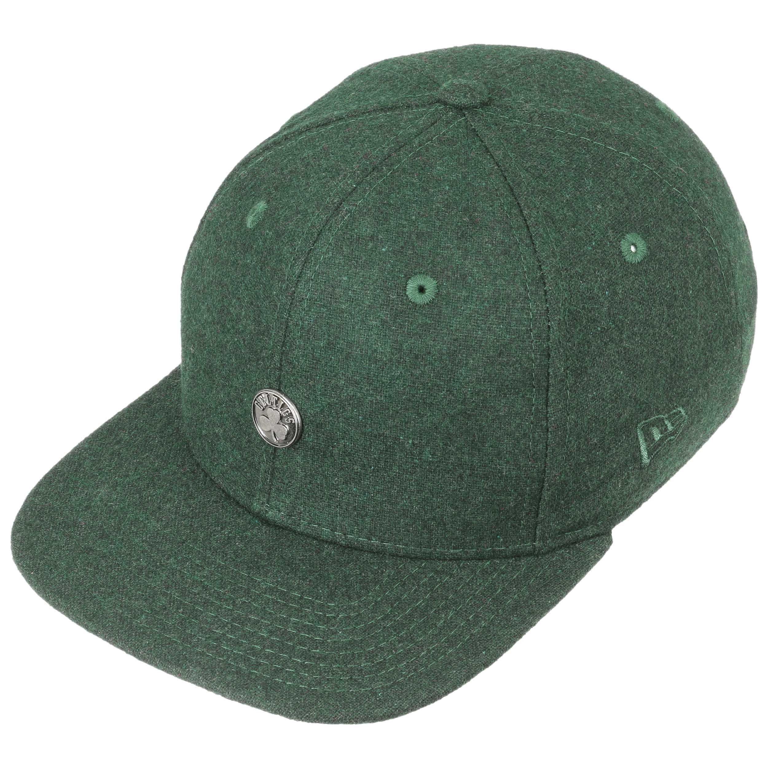 9Fifty Pin Celtics Cap by New Era - dark green 1 ... fc6f04989bb