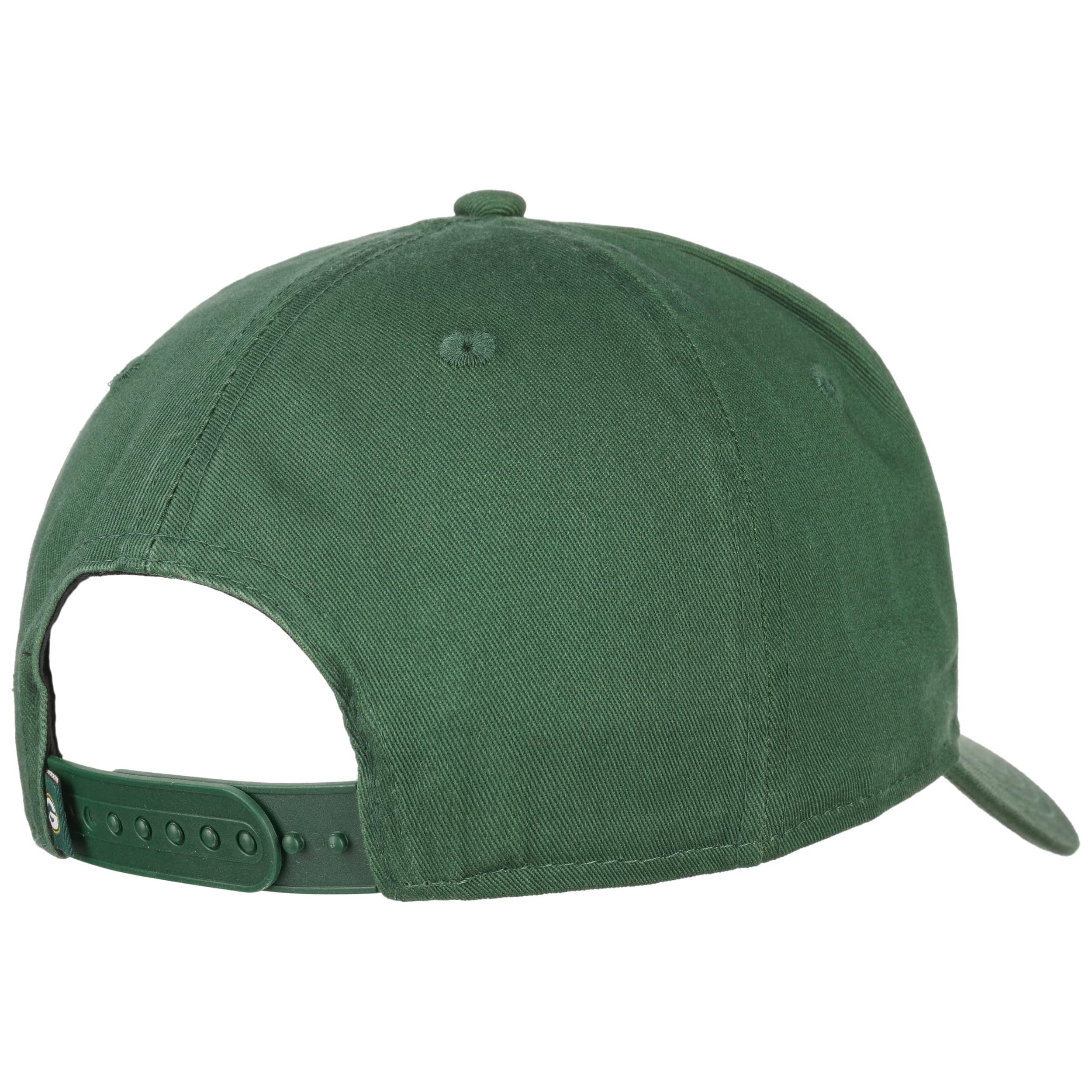 New Era USA Patch Trucker Curve Peak Summer Green Hat Cap