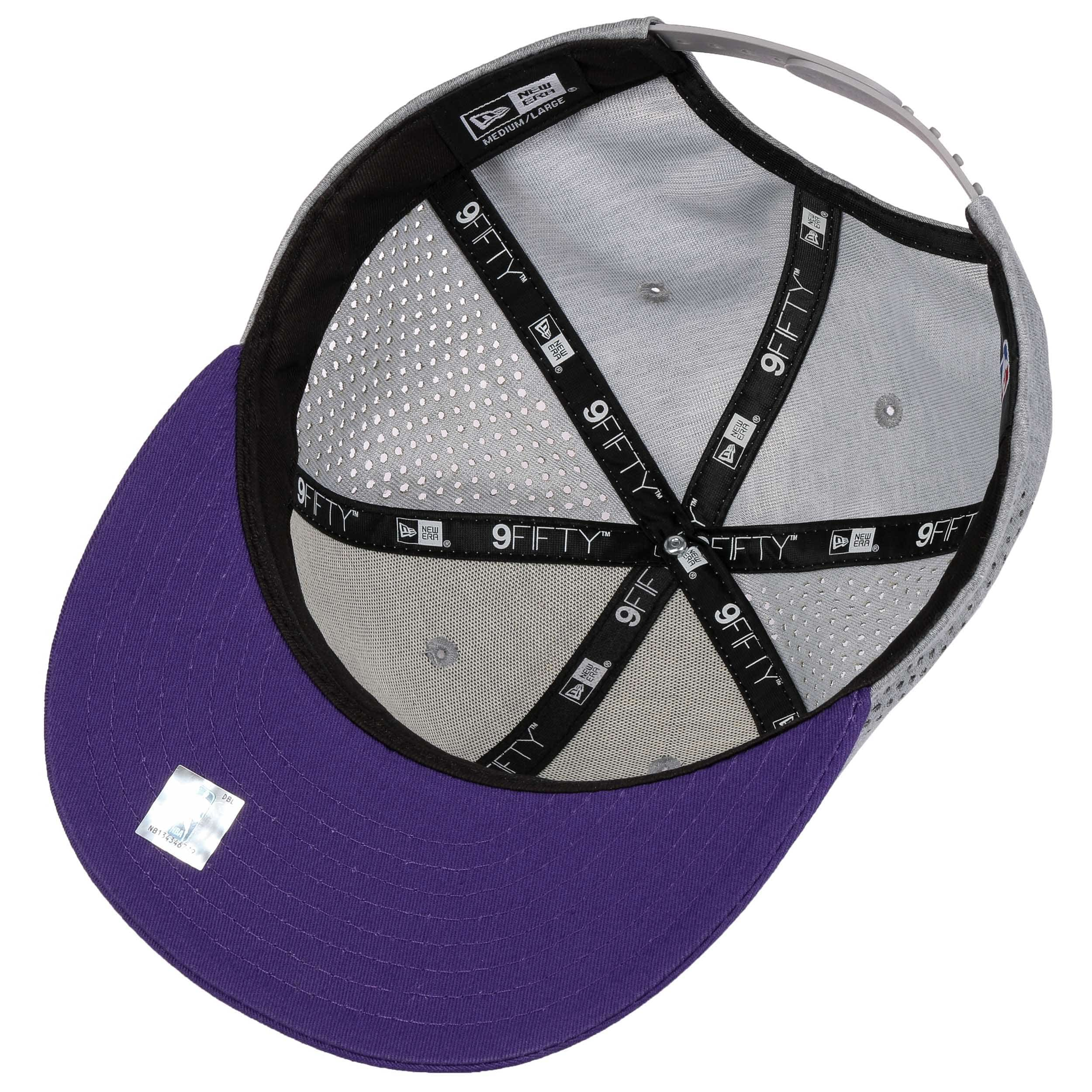 9Fifty Shadow Tech Lakers Cap by New Era