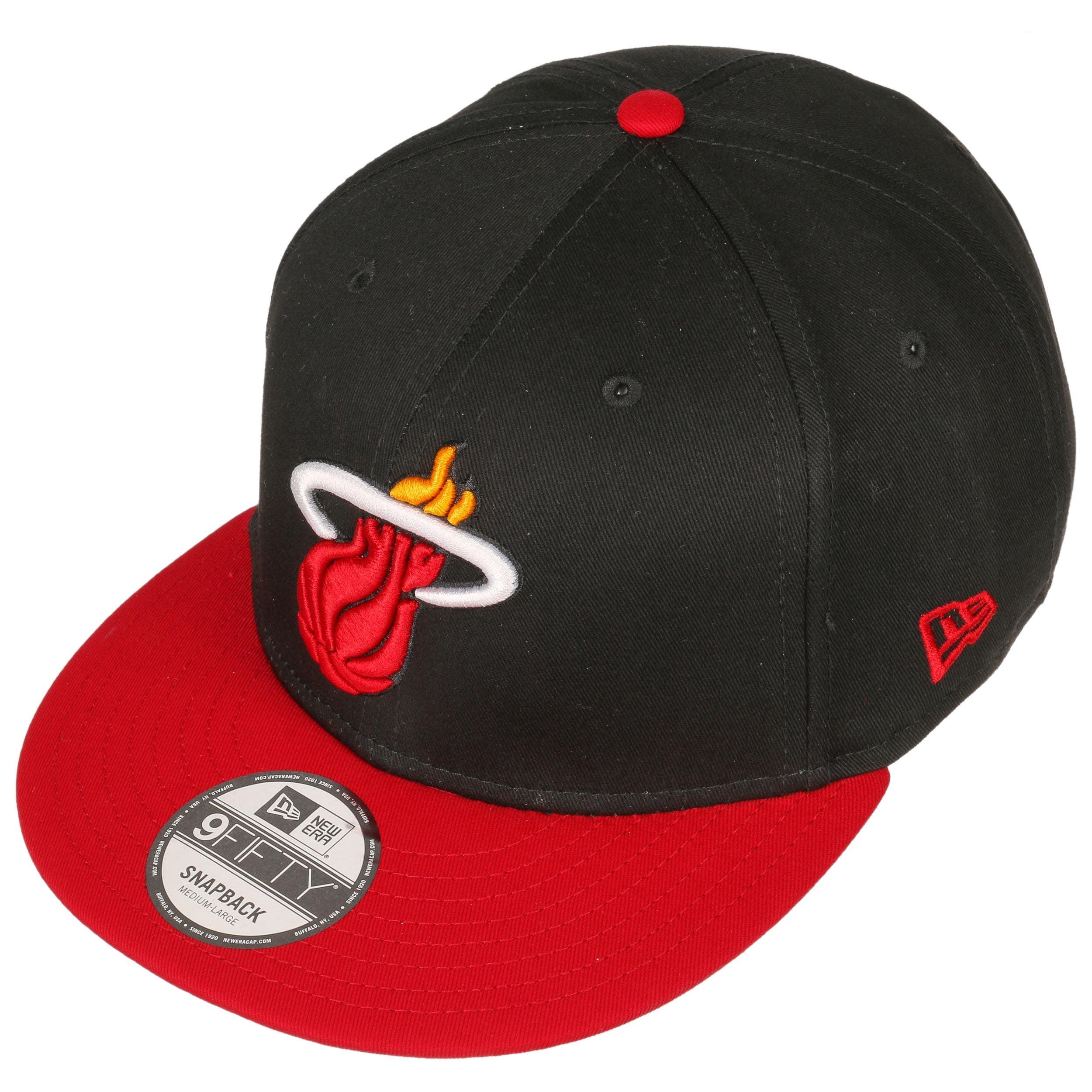 cdbafbcfd31a8 9Fifty TC Miami Heat Cap by New Era - black 1 ...