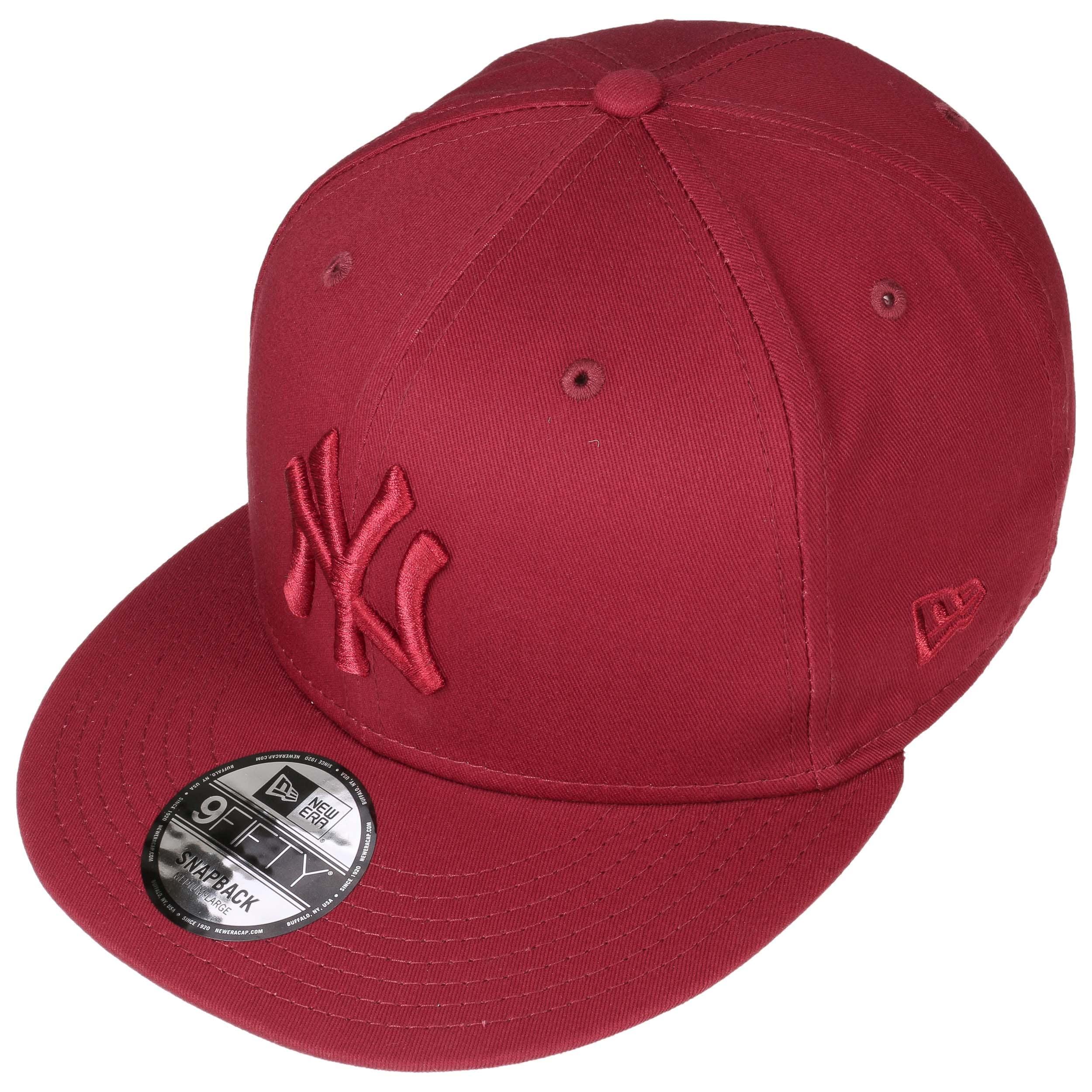 9Fifty Uni League Ess Yankees Cap by New Era - bordeaux 1 ... aca1b18b8f91