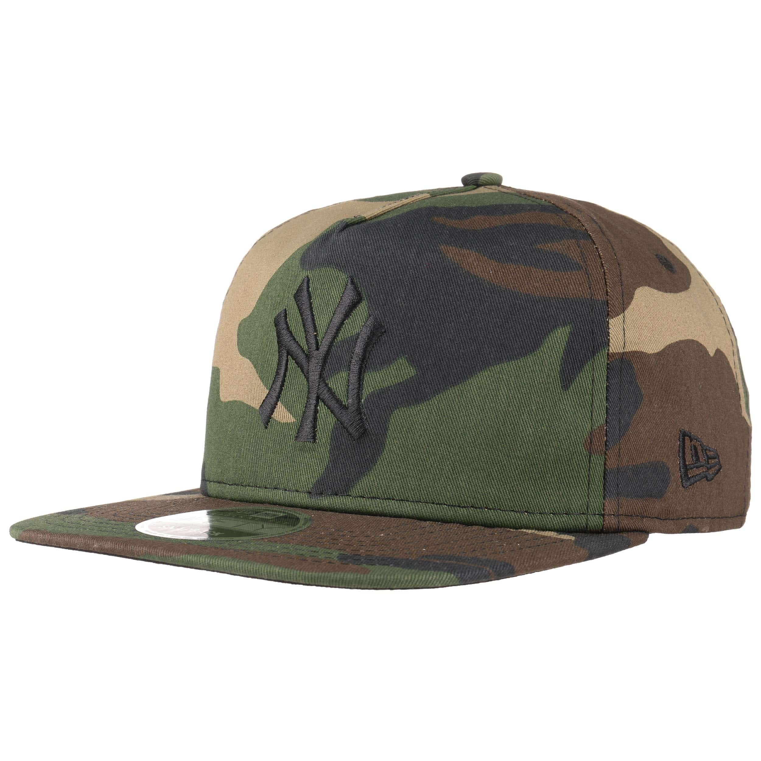 9fifty unstructured ny camo cap by new era eur 34 95. Black Bedroom Furniture Sets. Home Design Ideas