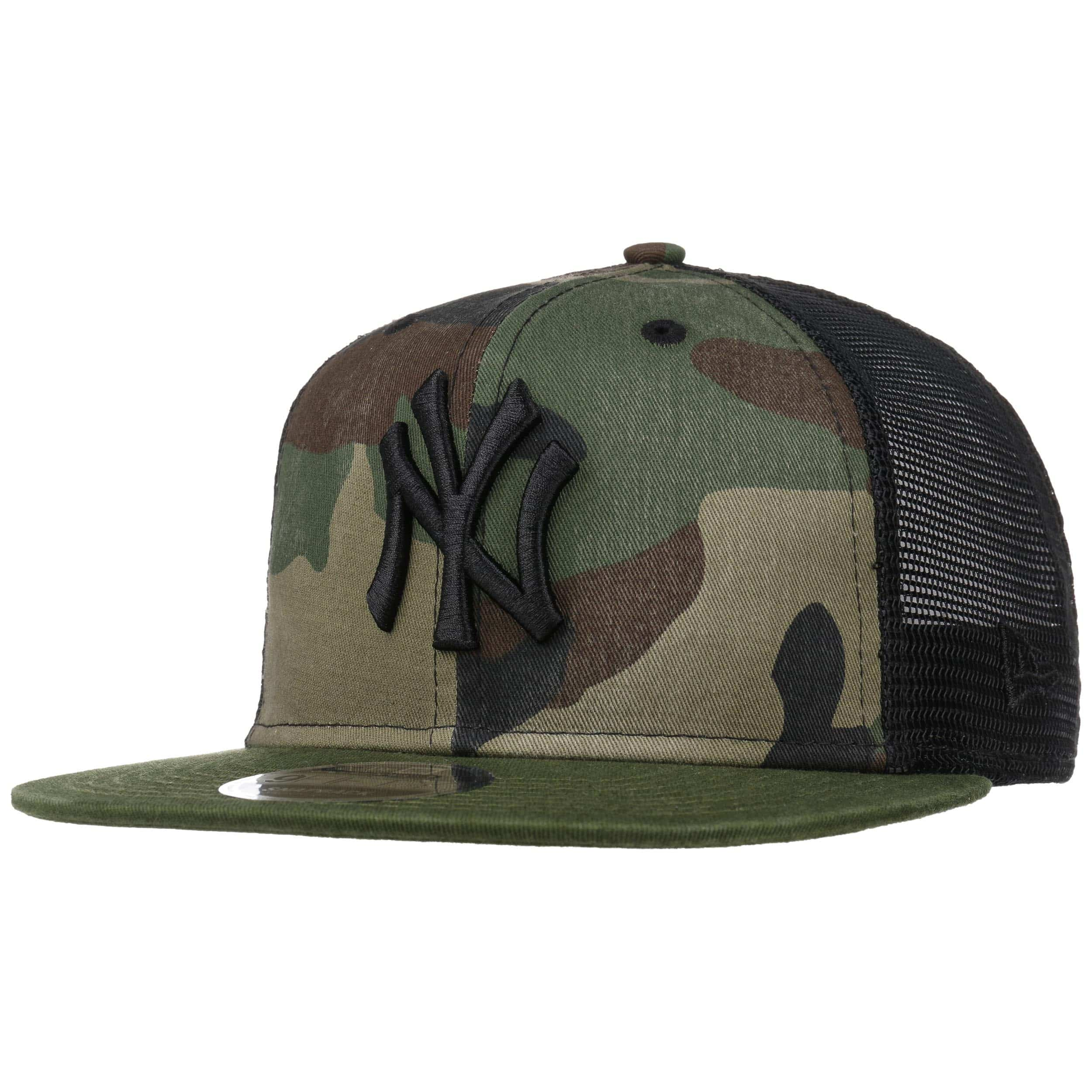 9e60cfeb ... 9Fifty Wash Camo Yankees Cap by New Era - camouflage 7